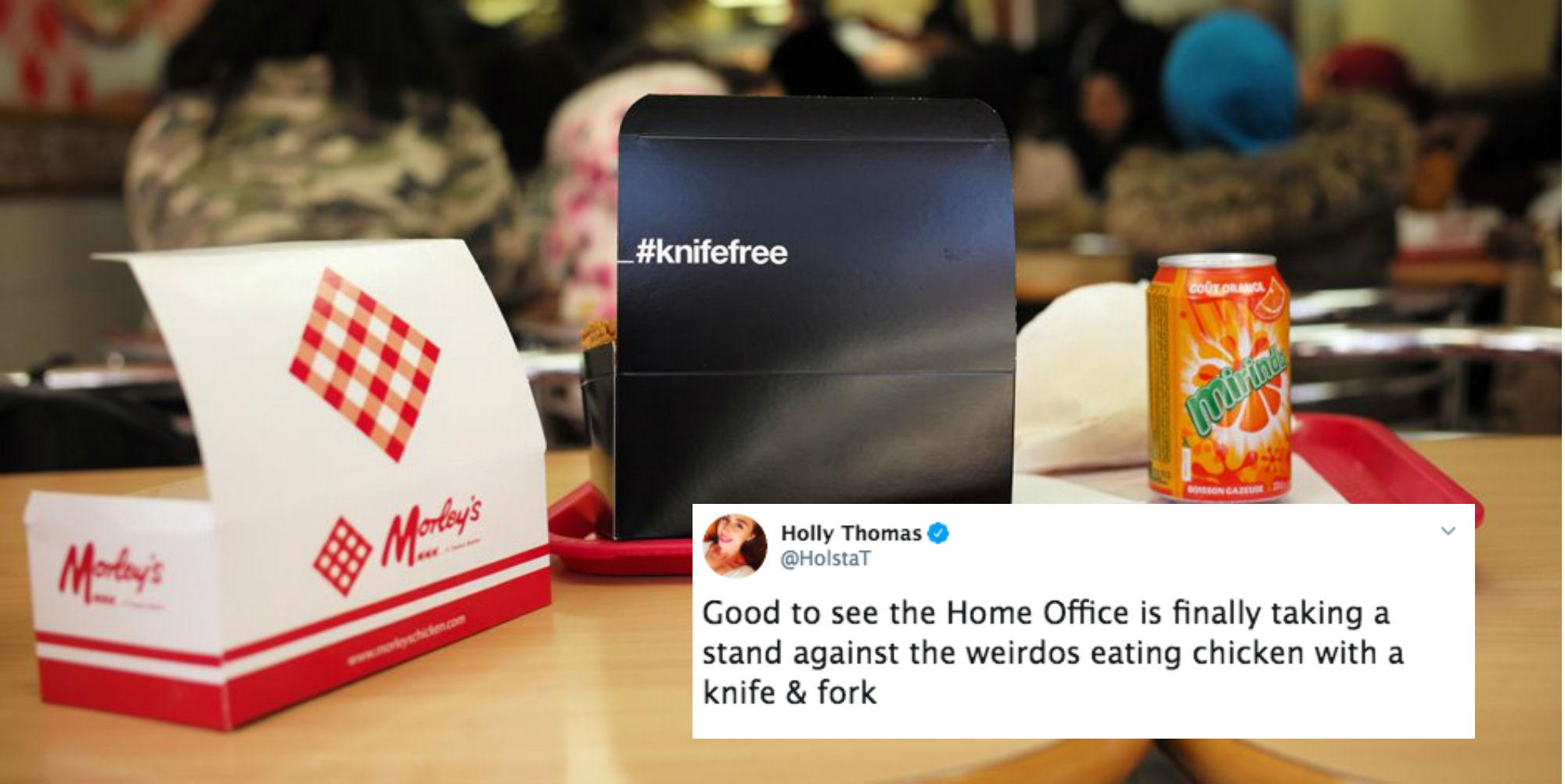 Knife Free: The Home Office Using Chicken Boxes To Combat ...
