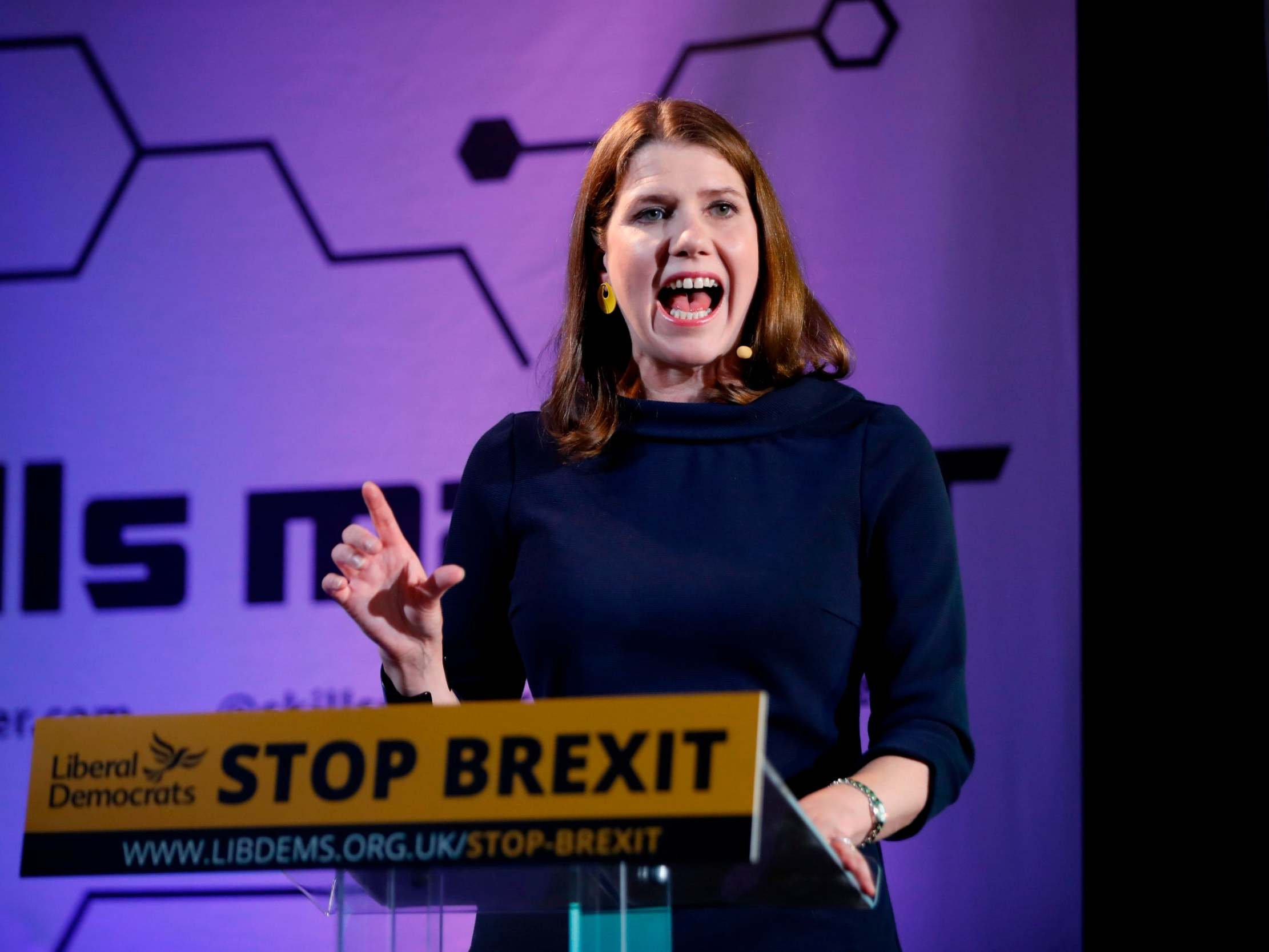 Jo Swinson, your supporters will drop like flies if you abandon a second referendum on Brexit