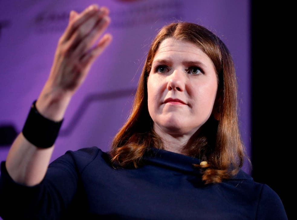 'Jeremy Corbyn is not going into No 10 on the basis of Liberal Democrats' votes,' said Lib Dem leader Jo Swinson