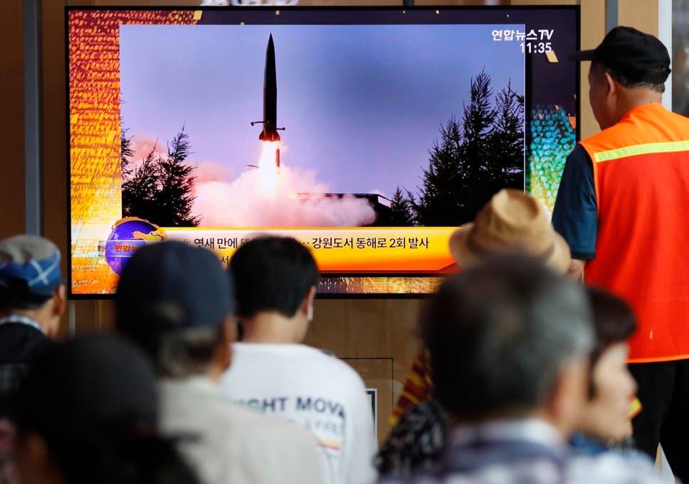 Image result for north korea missile test
