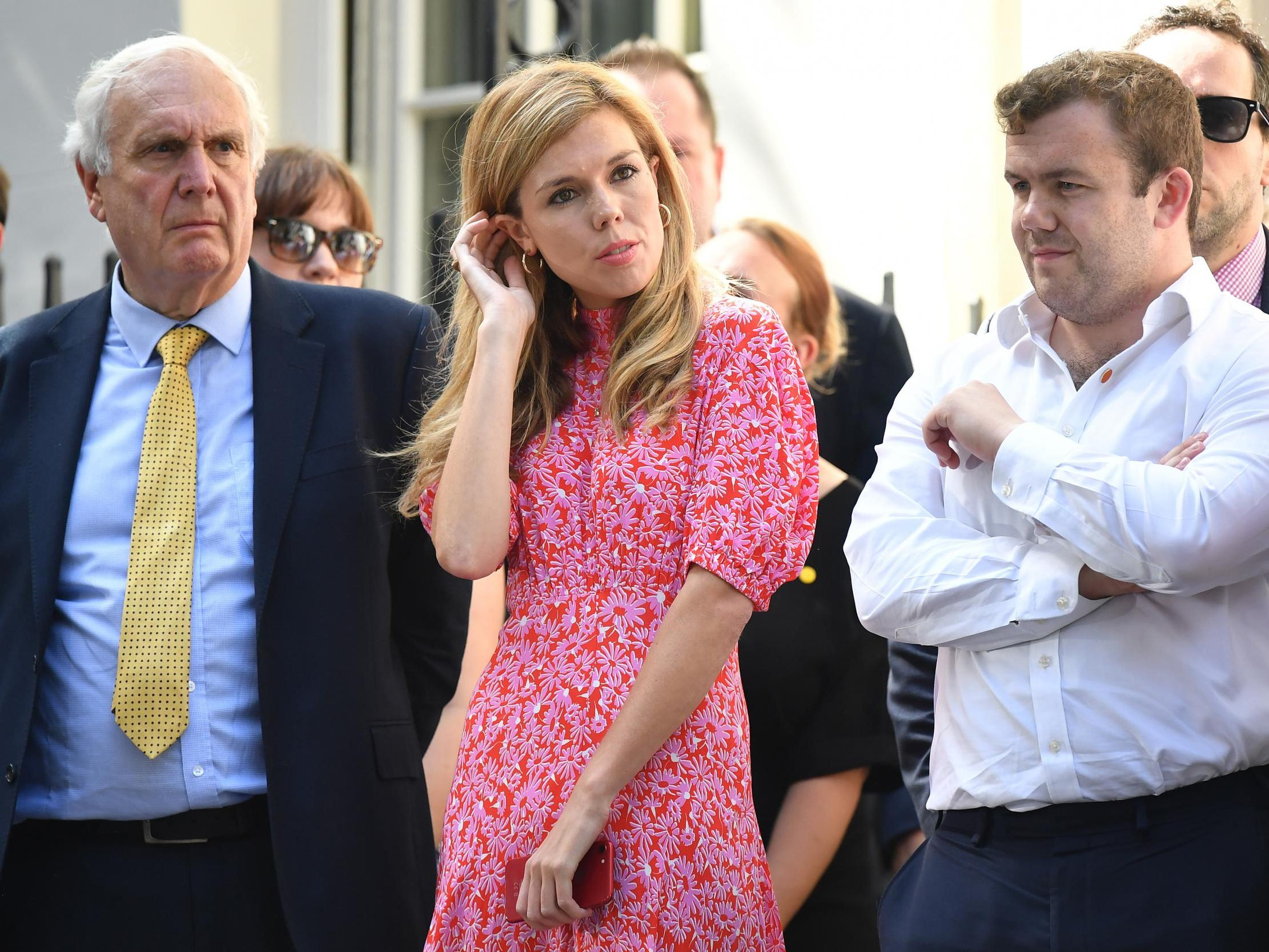 Boris Johnson's partner Carrie Symonds to give speech then appear on…
