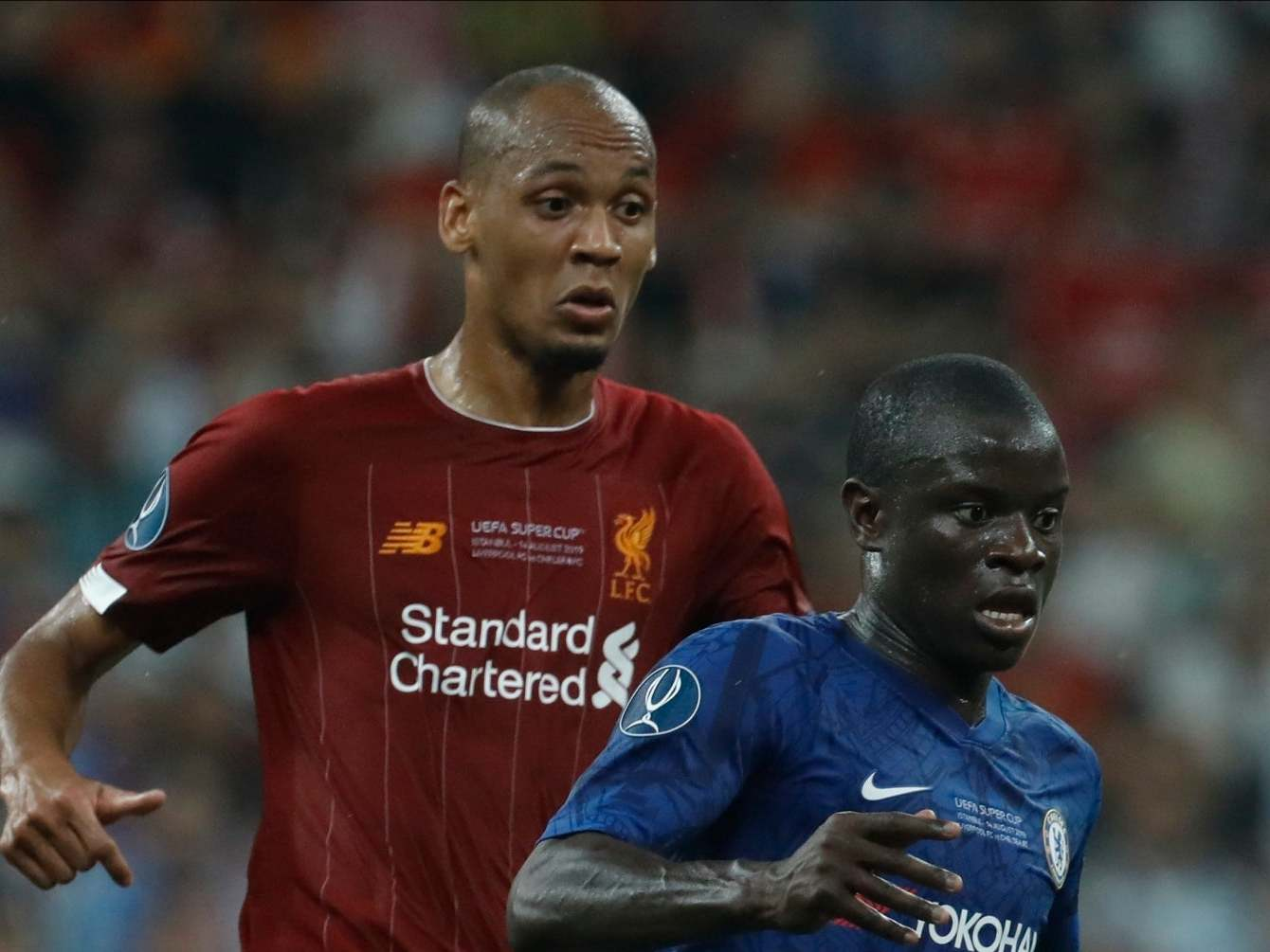 Liverpool news: Fabinho criticised by Graeme Souness for appearing to wear 'lead boots' in Uefa Super Cup