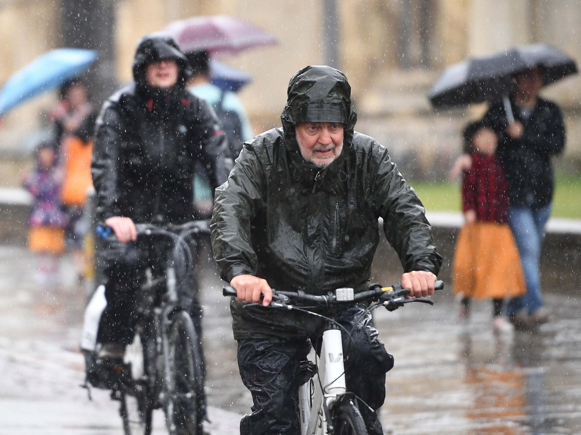 UK weather: Flood alerts issued as month's worth of rain forecast within hours