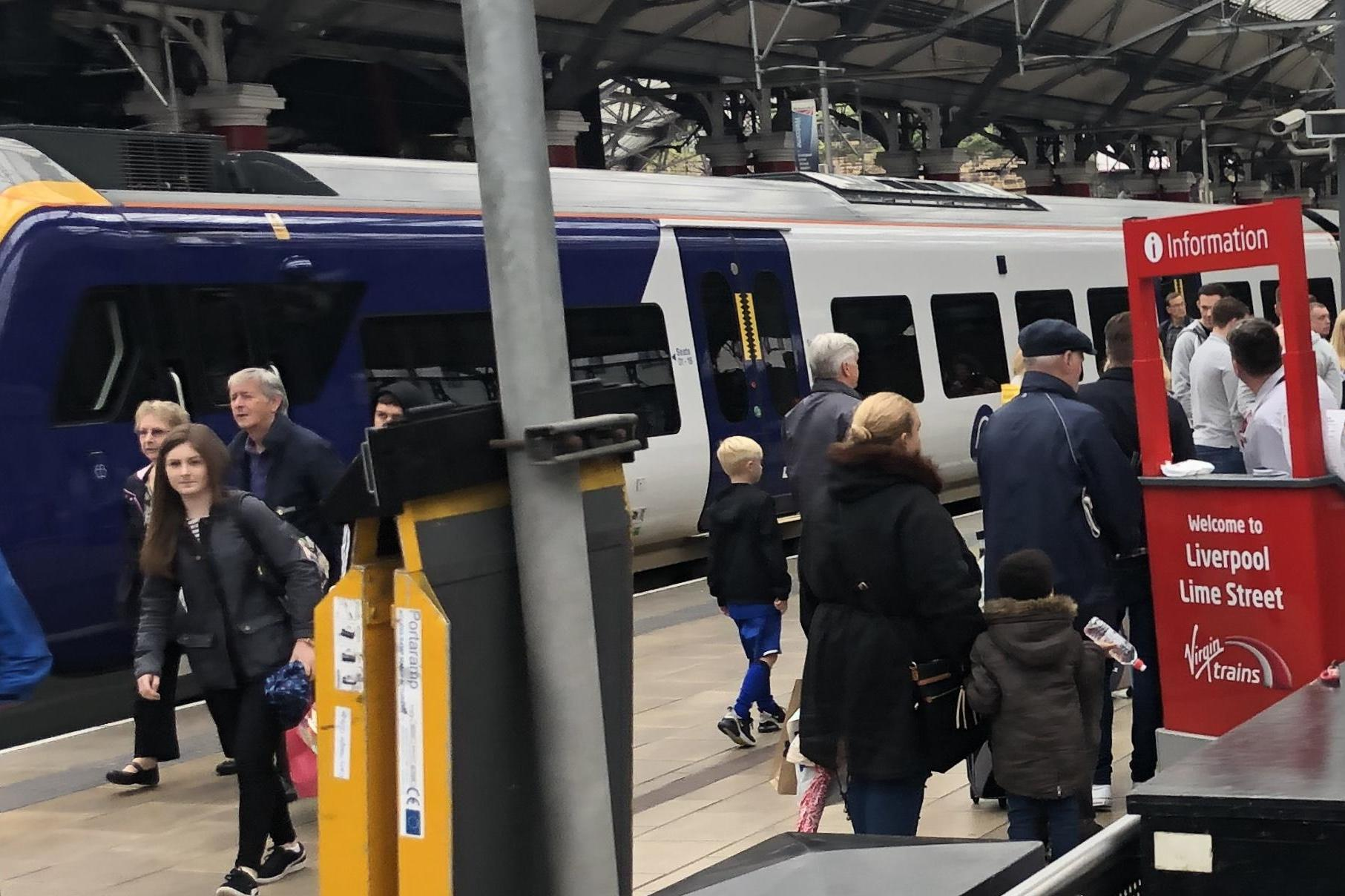 Rail passengers in northwest England disrupted on busy travel weekend