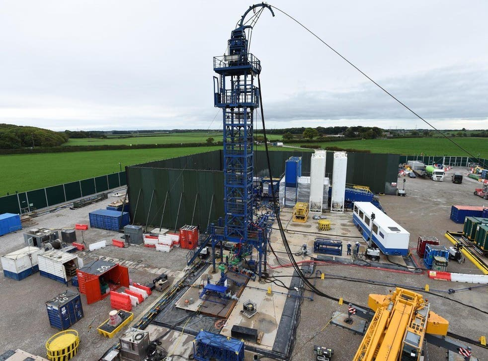 Energy firm Cuadrilla has resumed hydraulic fracturing - or fracking - operations on its second horizontal well at Preston New Road