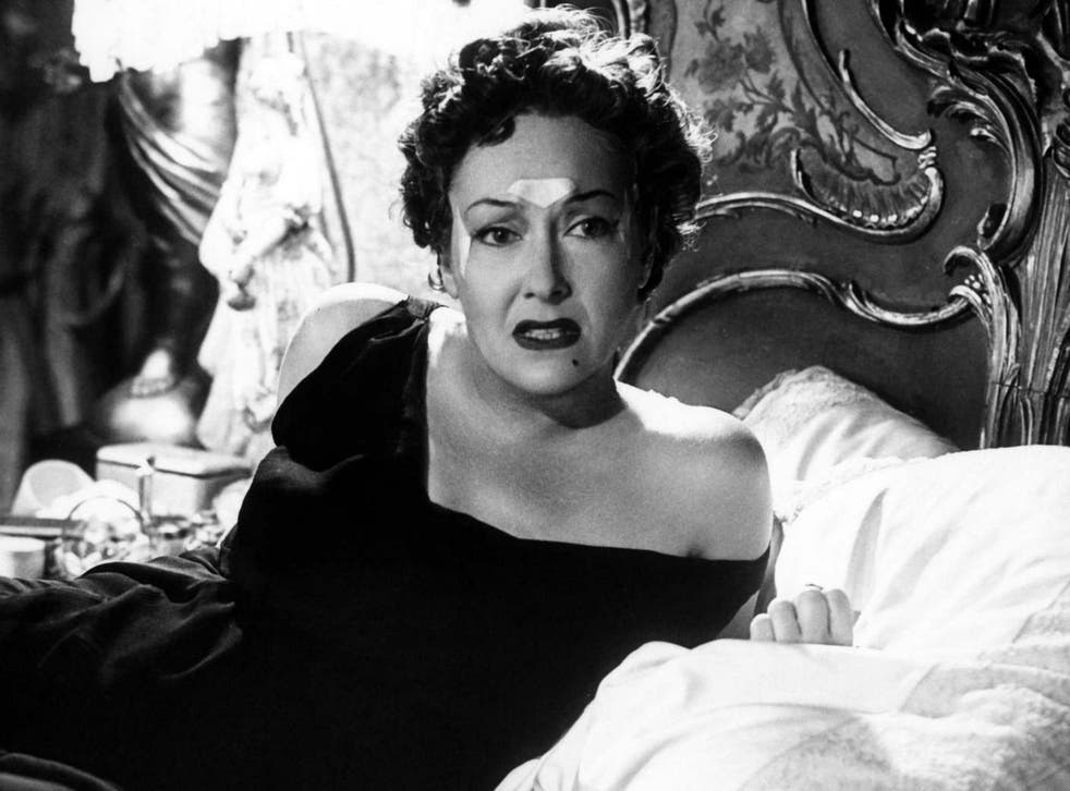 Gloria Swanson's Norma Desmond relied on Frownies for wrinkle prevention