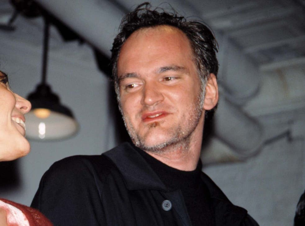 'He wasn't the greatest actor, but it did fit the part': Tarantino at the Broadway premiere of 'Wait Until Dark' on 5 April 1998