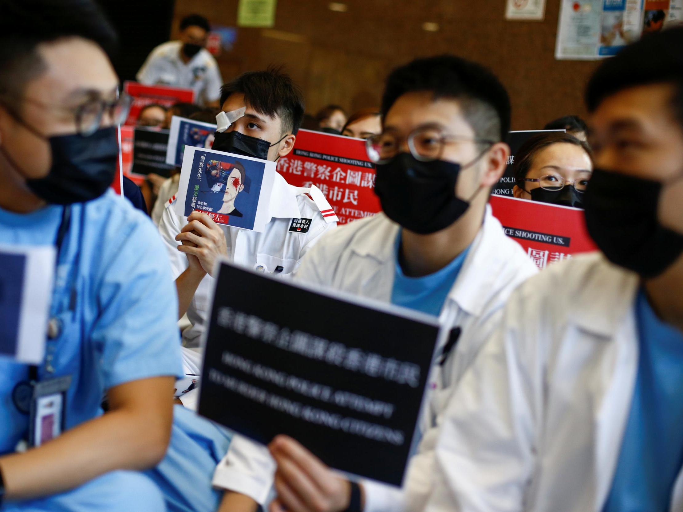 Hong Kong's trauma is deep – but by standing with the people, medical workers are providing social healing too