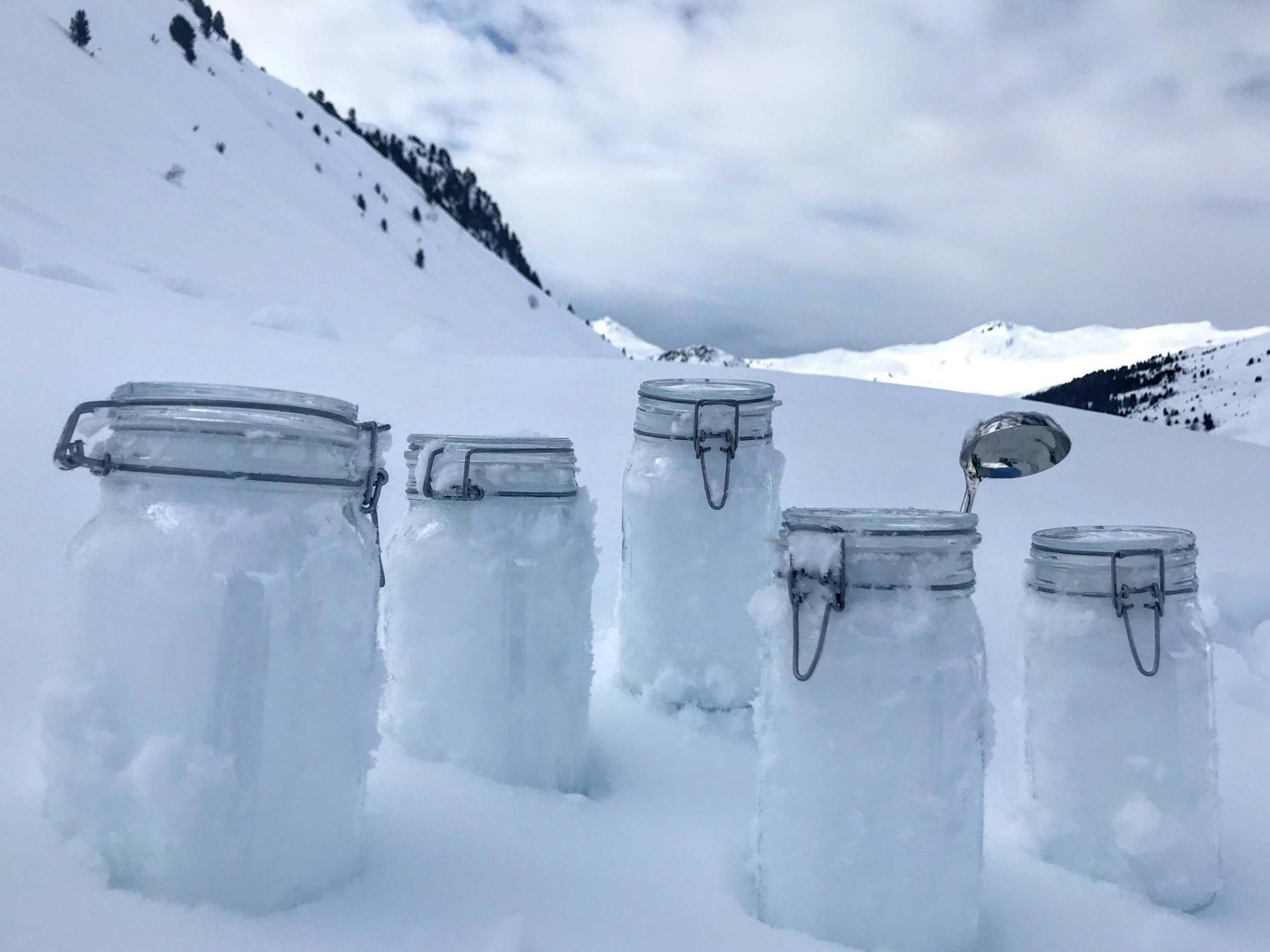 Microplastics discovered in Arctic snow