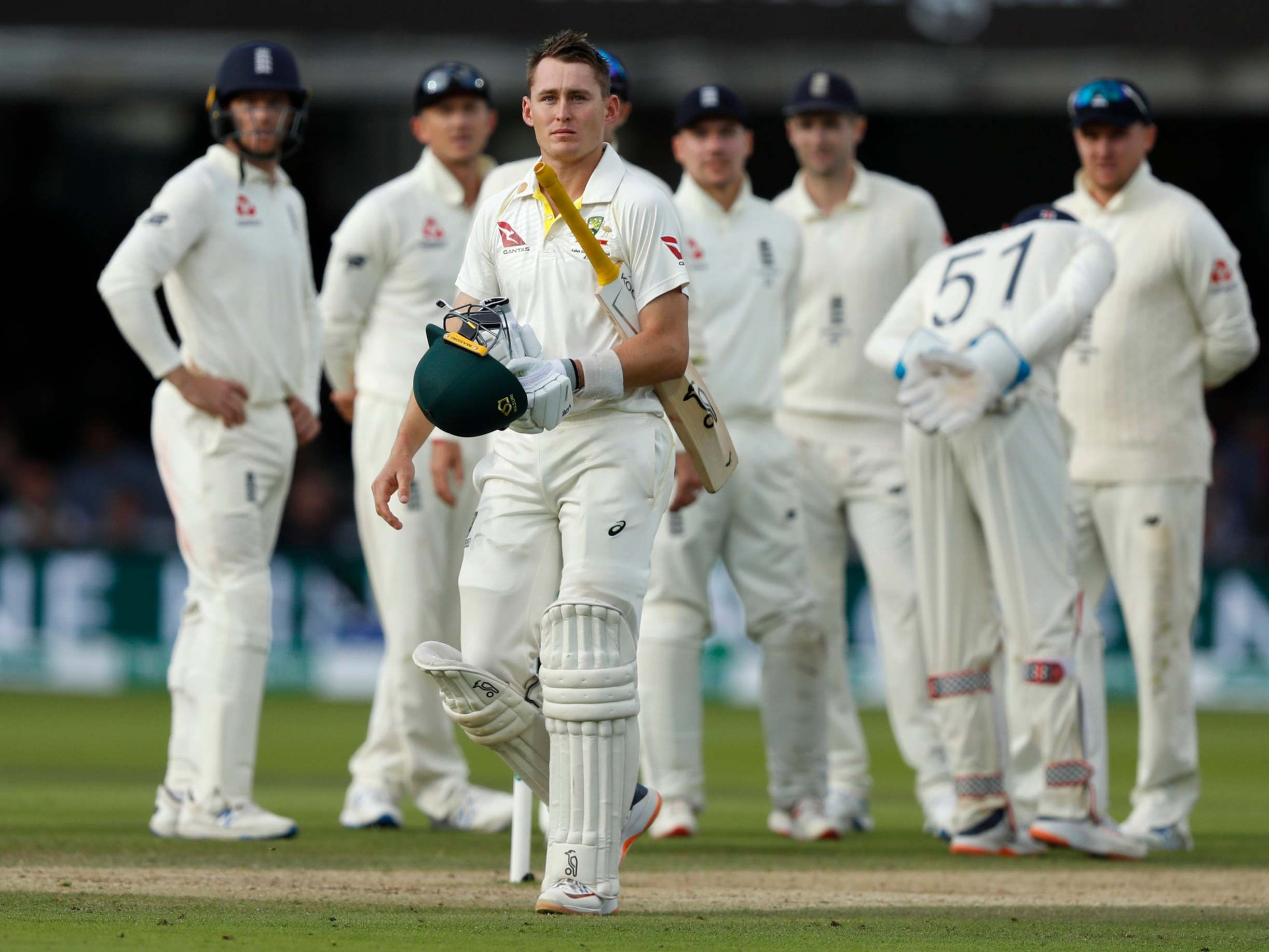 England vs Australia: Marnus Labuschagne's Test-saving Ashes debut will live long in the memory