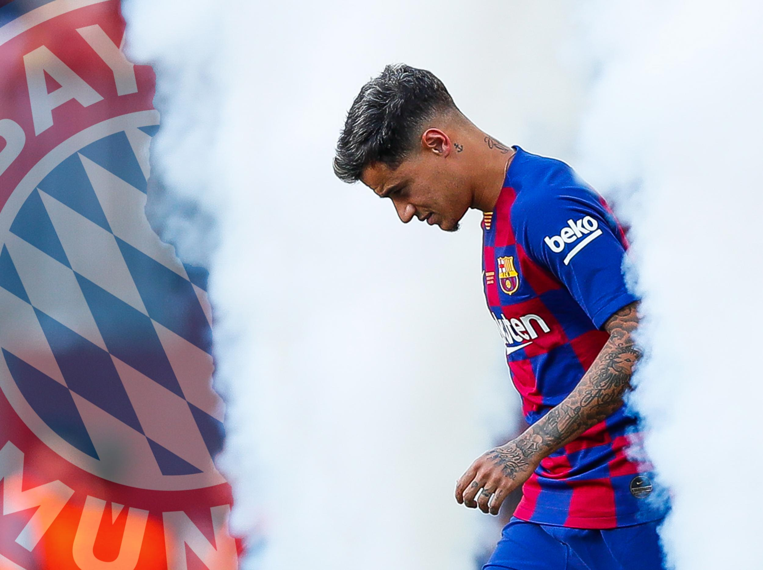 Philippe Coutinho: Barcelona midfielder joins Bayern Munich on loan with £110m option to buy