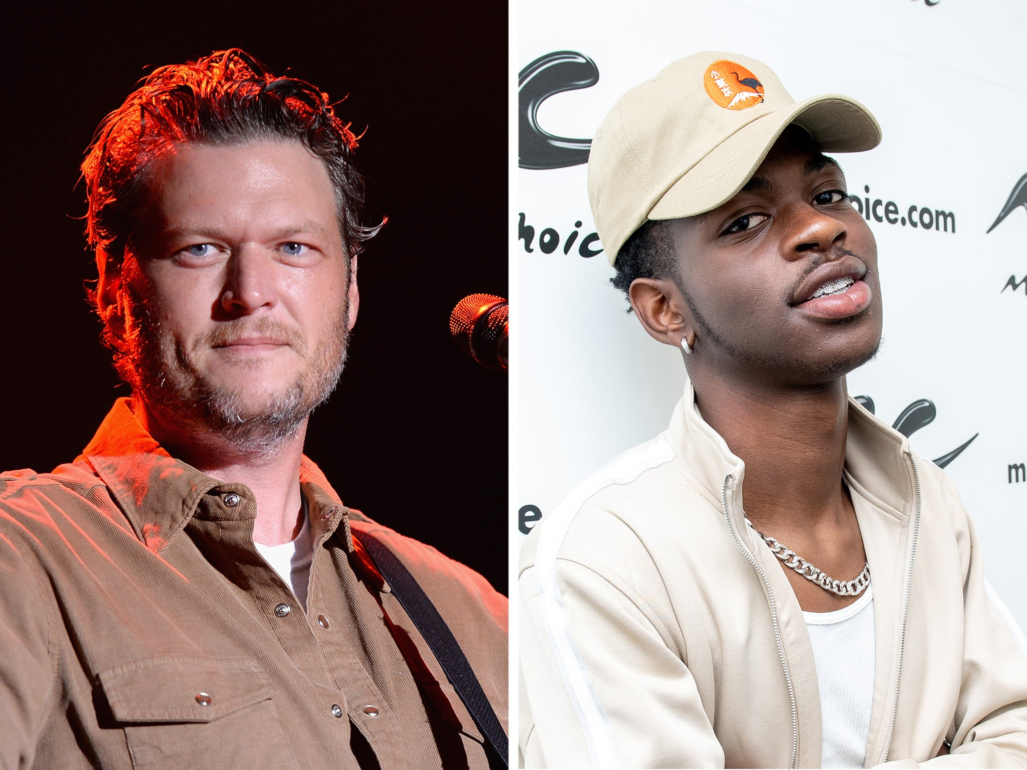 Andrew Blake Five Stars 2 blake shelton denies new single insults lil nas x's 'old