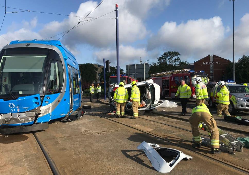 Wolverhampton Crash At Least Five Injured After Car Smashes