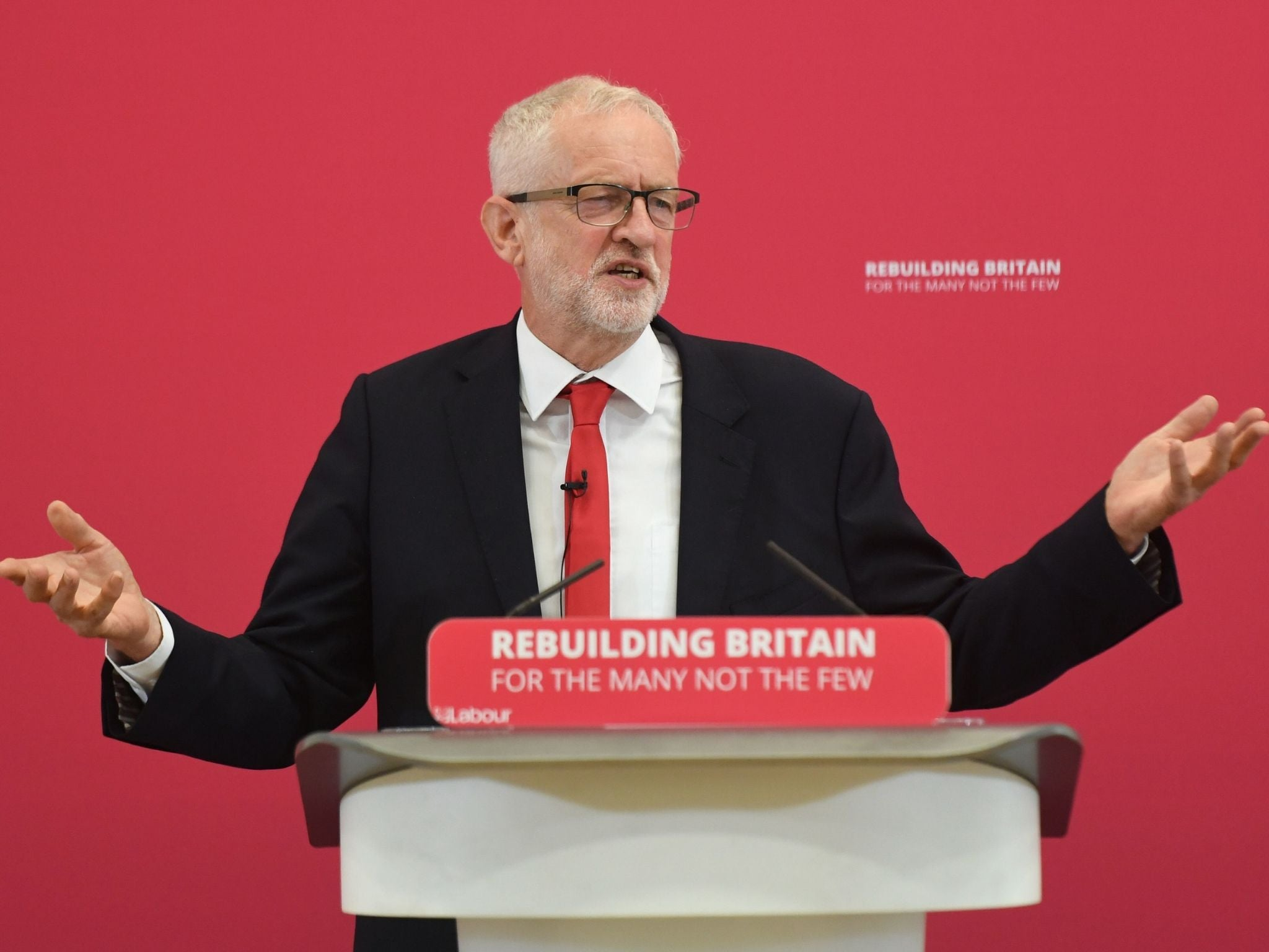 Jeremy Corbyn's latest Brexit strategy: I don't care about Brexit and neither should you