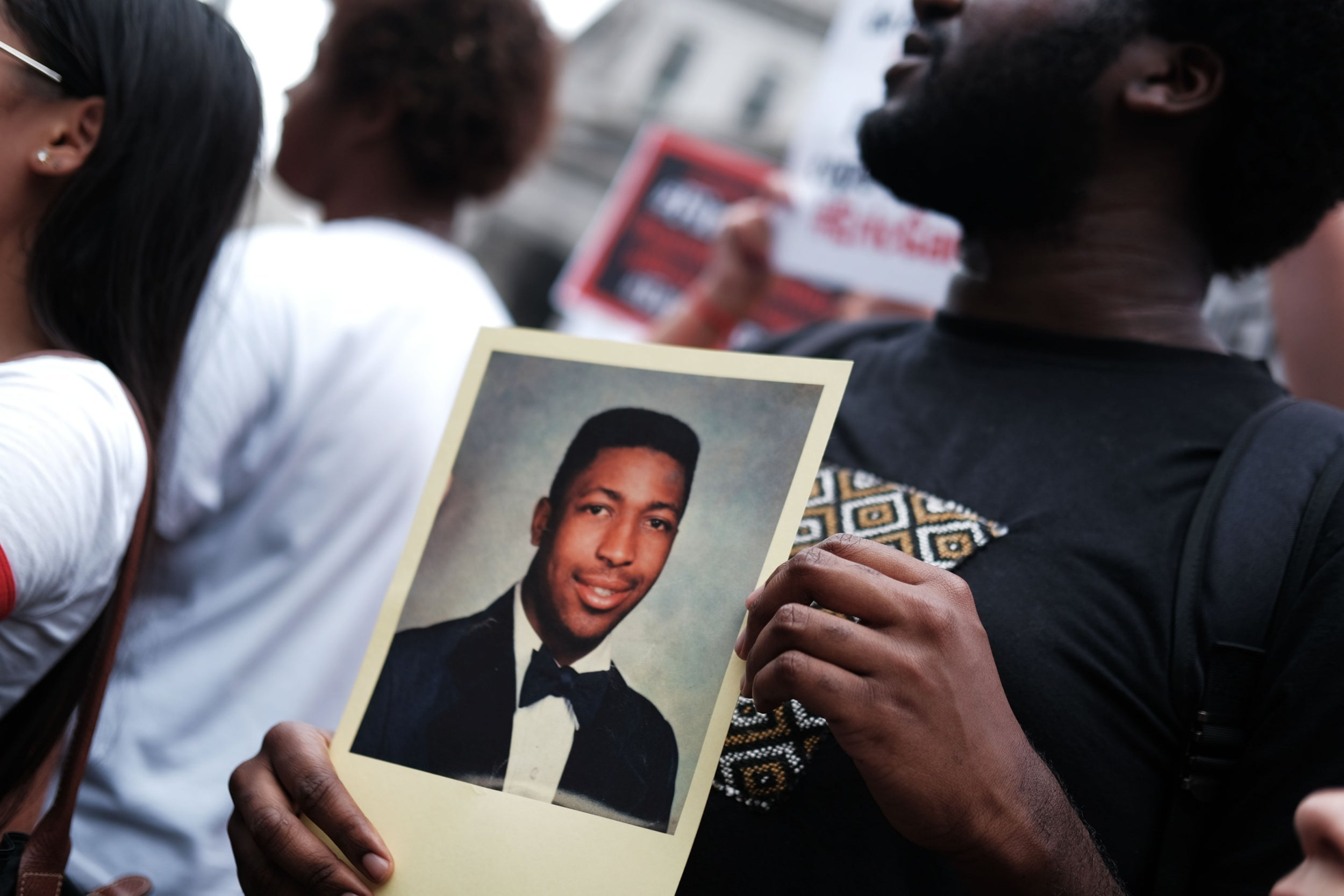 The NYPD officer accused of killing Eric Garner has been fired. Don't tell me I should be happy