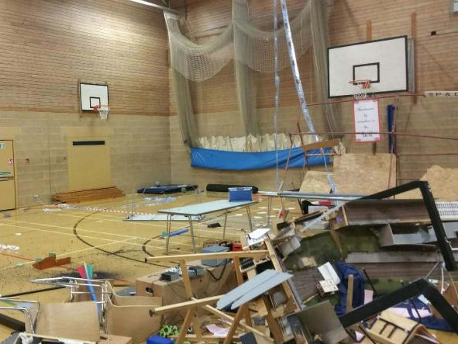 'Mindless wanton destruction': Schoolboys' parents to pay £1,500 after £30,000 model railway show trashed