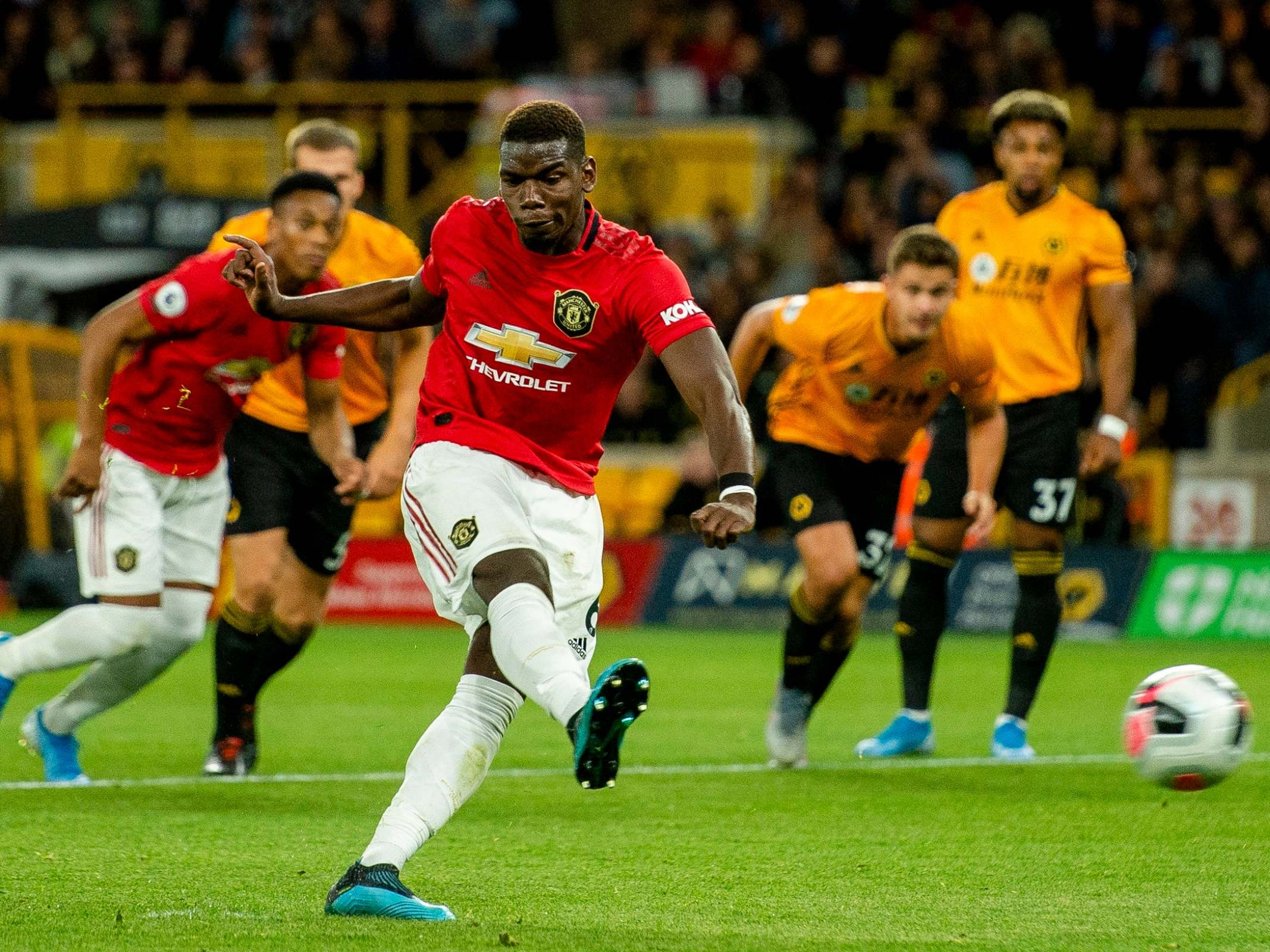 Wolves vs Manchester United player ratings: Pogba's missed penalty sees Ole Gunnar Solskjaer's side held to draw