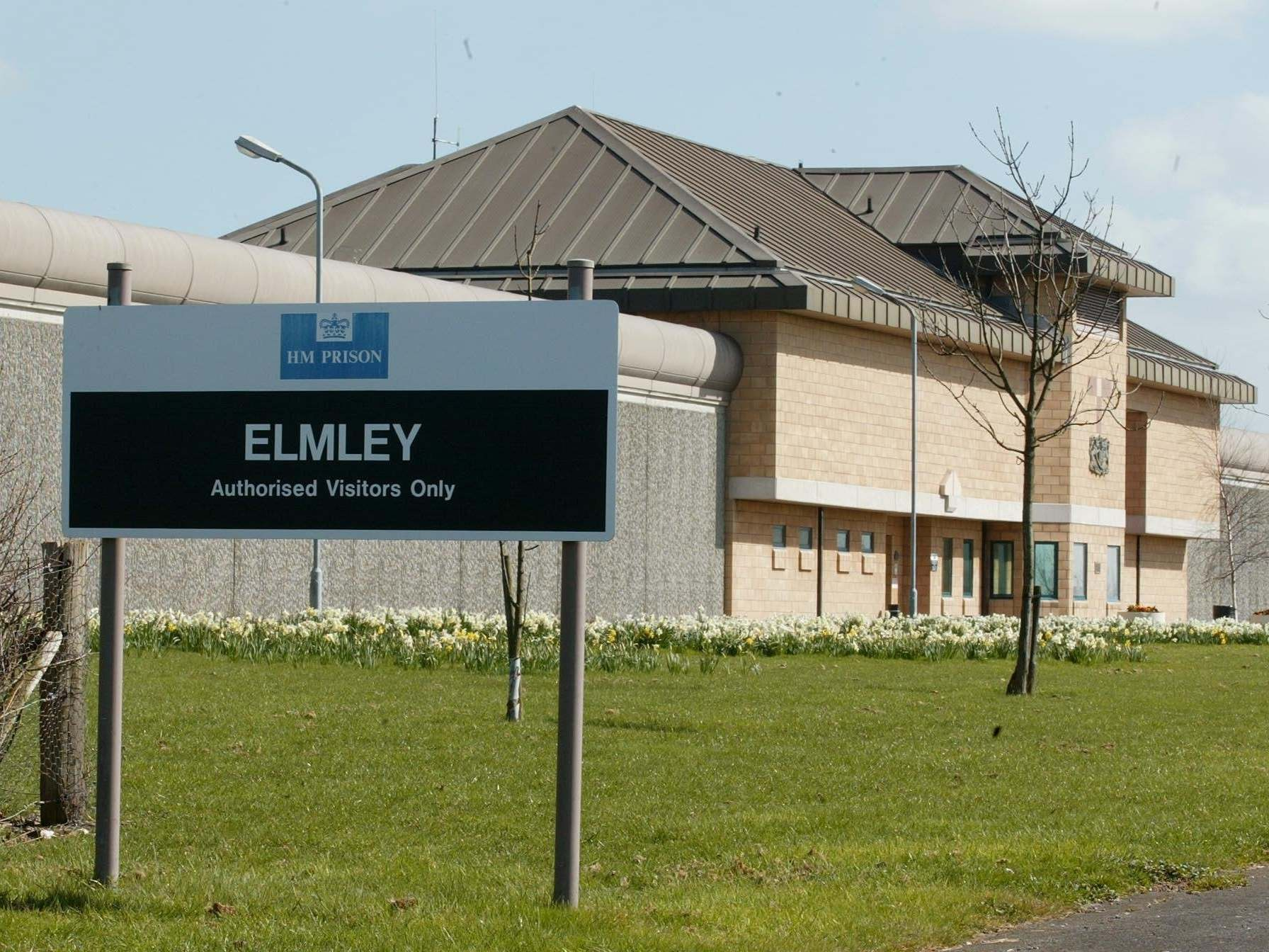 Almost a quarter of HMP Elmley's inmates test positive for illegal drugs