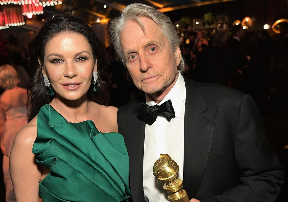 Catherine Zeta Jones and Micha...