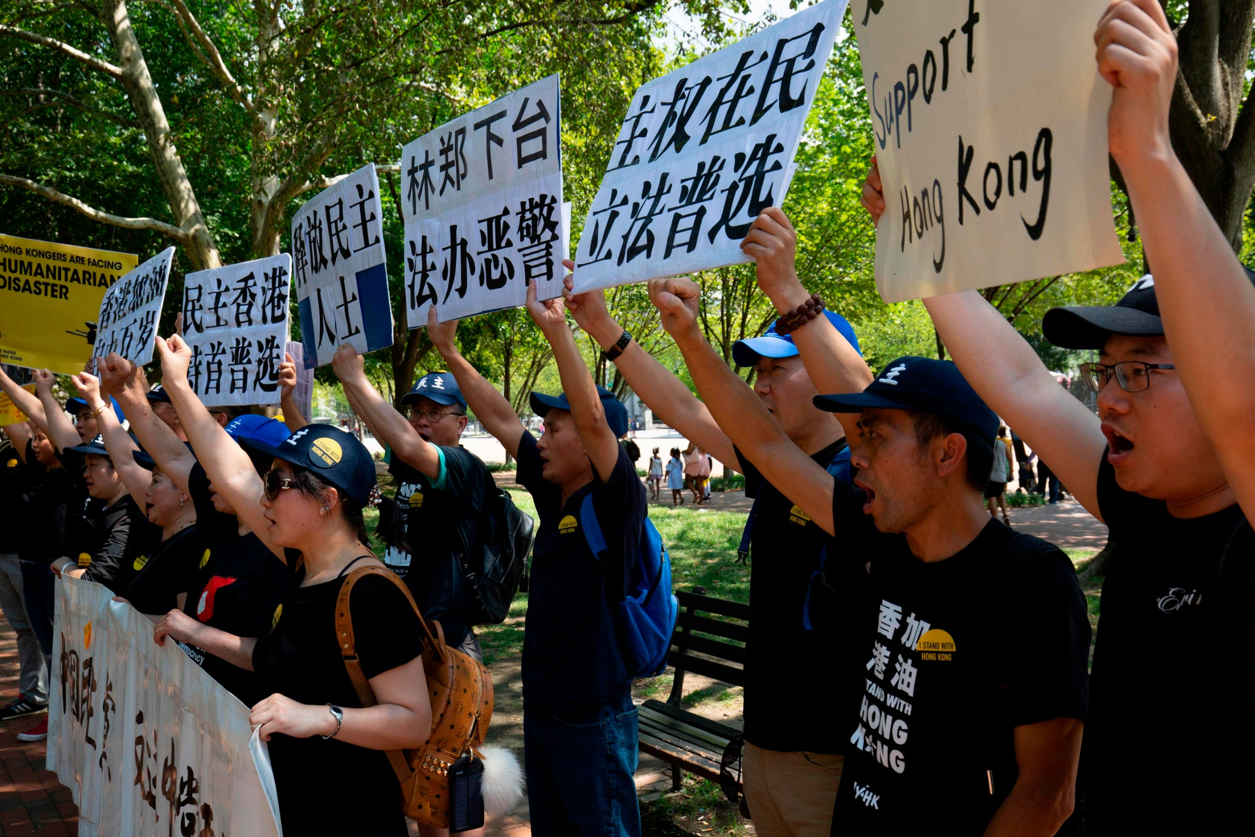 I've been talking to Hong Kong's protesters and this is their message for Boris Johnson