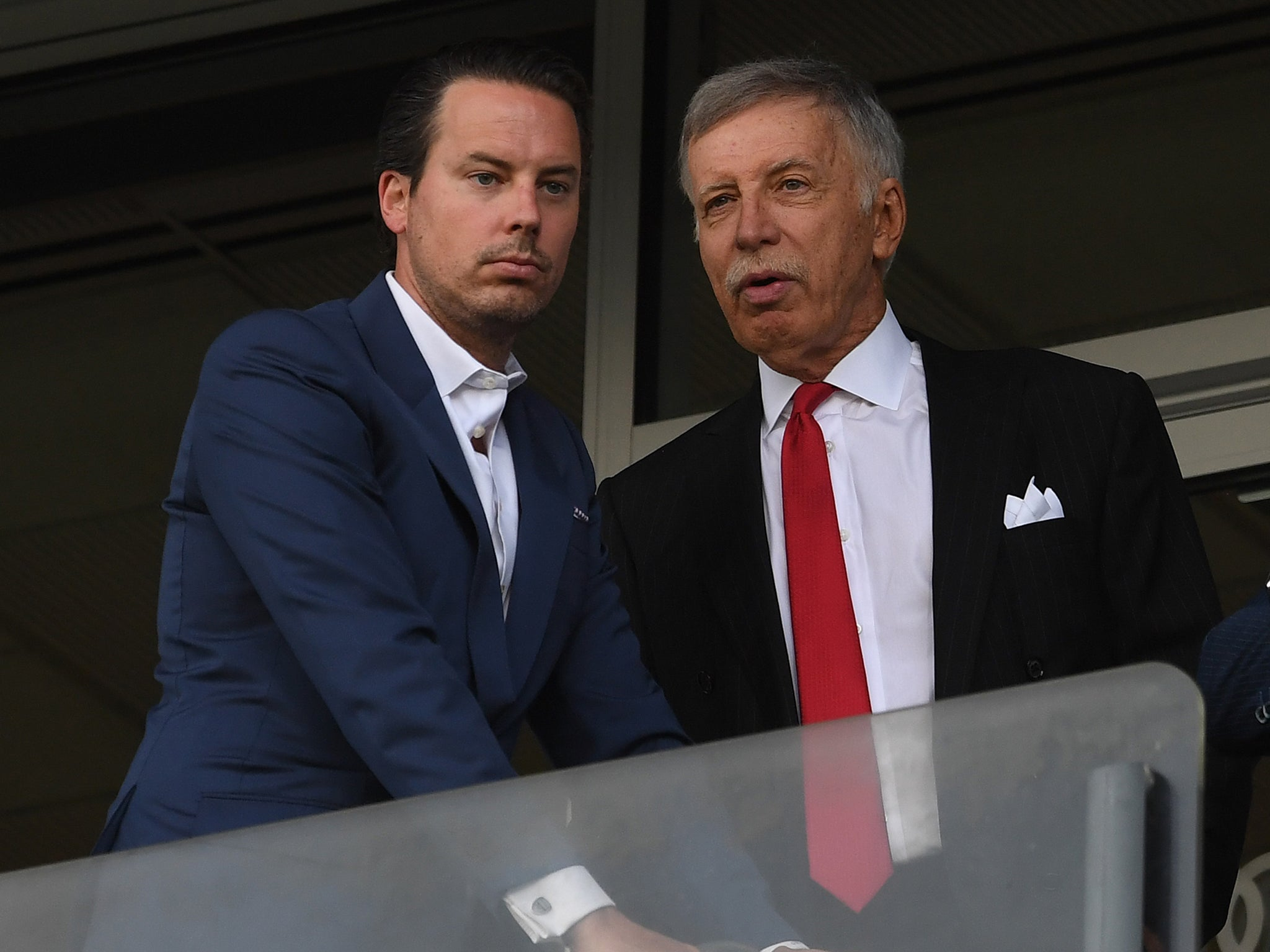 Arsenal decided on 'aggressive' transfer approach after Europa League final defeat, says Josh Kroenke