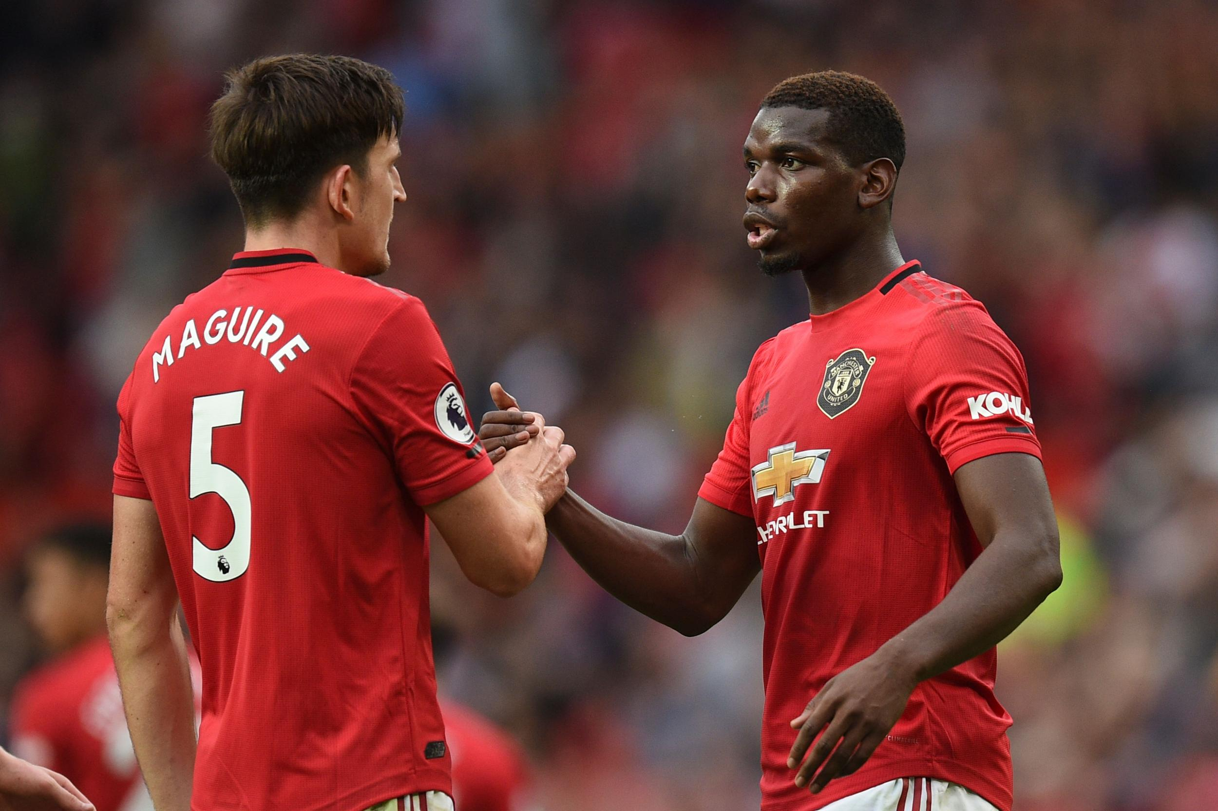 Manchester United: Harry Maguire calls for Twitter ID checks after Paul Pogba racially abused