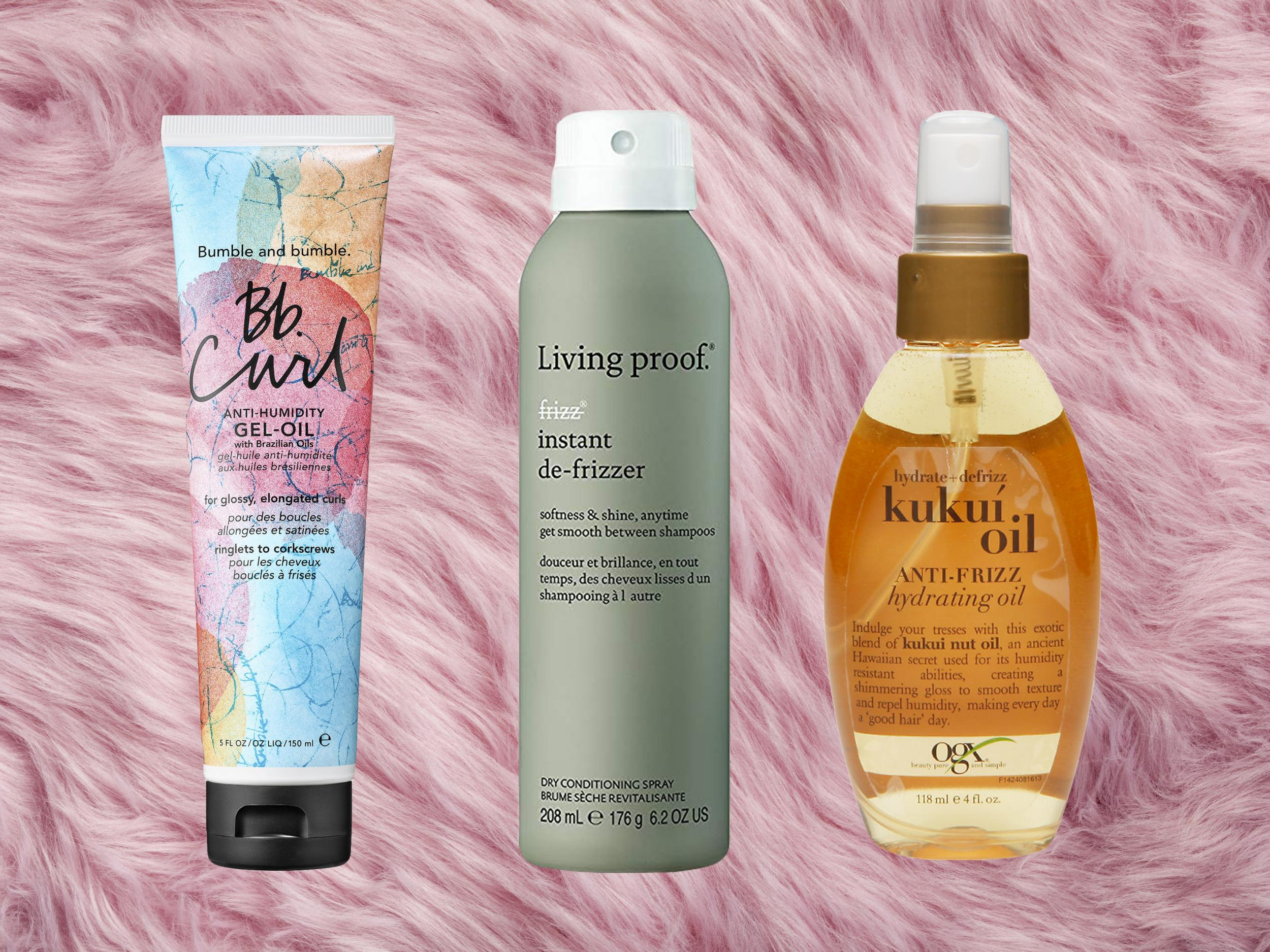 10 Best Anti Frizz Hair Products Oils Masks Sprays And Serums That Tame Unruly Locks