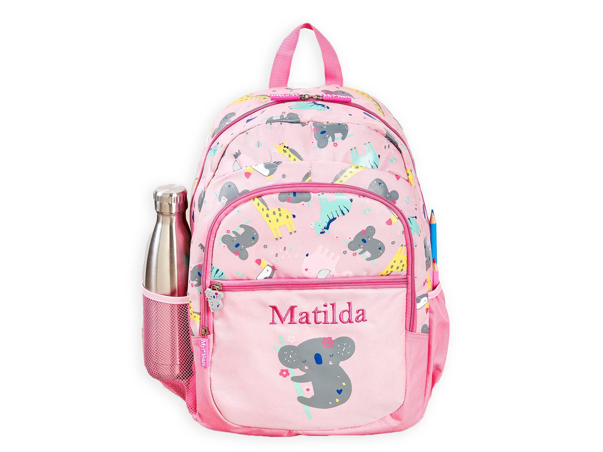 PE Bag For Girls Personalised Snow White Drawstring Swimming School