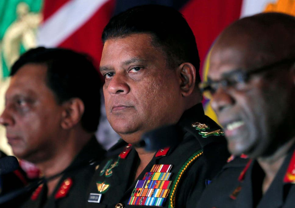 Shavendra Silva, joined the army in 1984 and was its chief of staff from January