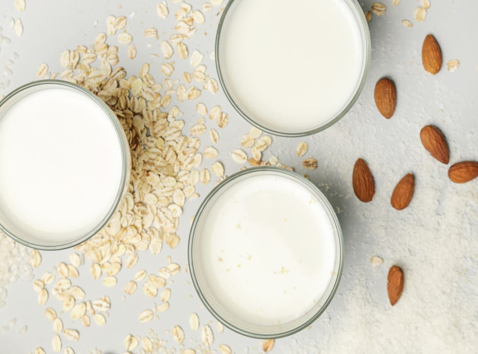 Organic vegan non-dairy plant-based milk