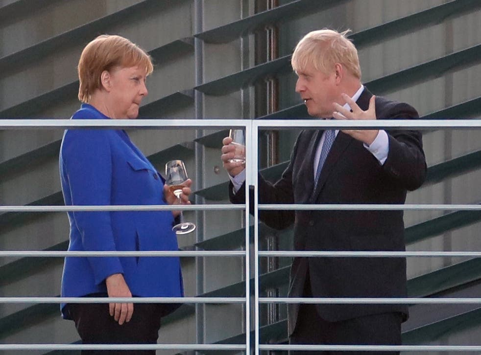 Will they be toasting a deal? The two leaders share a drink in Berlin this week