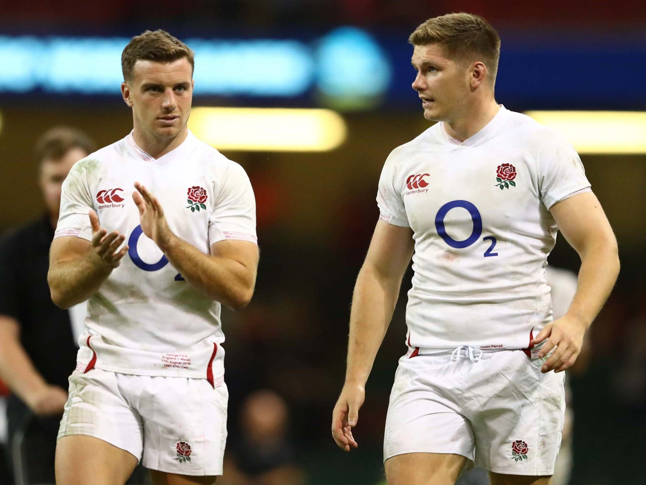 England vs Ireland team news: Owen Farrell and George Ford reunited as Manu Tuilagi starts Rugby World Cup warm-up
