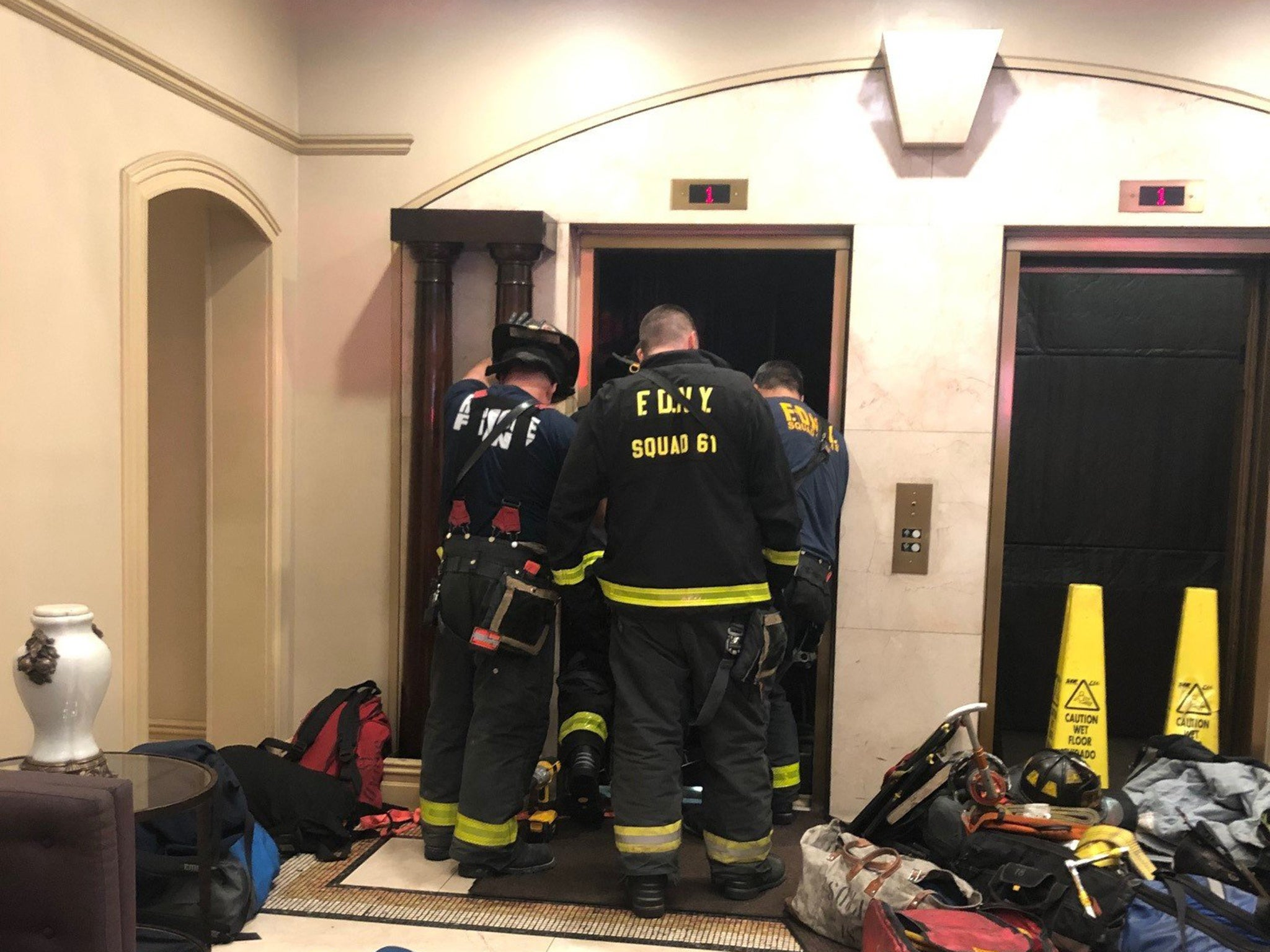 Man crushed to death by lift in Manhattan building recently fined over elevator safety