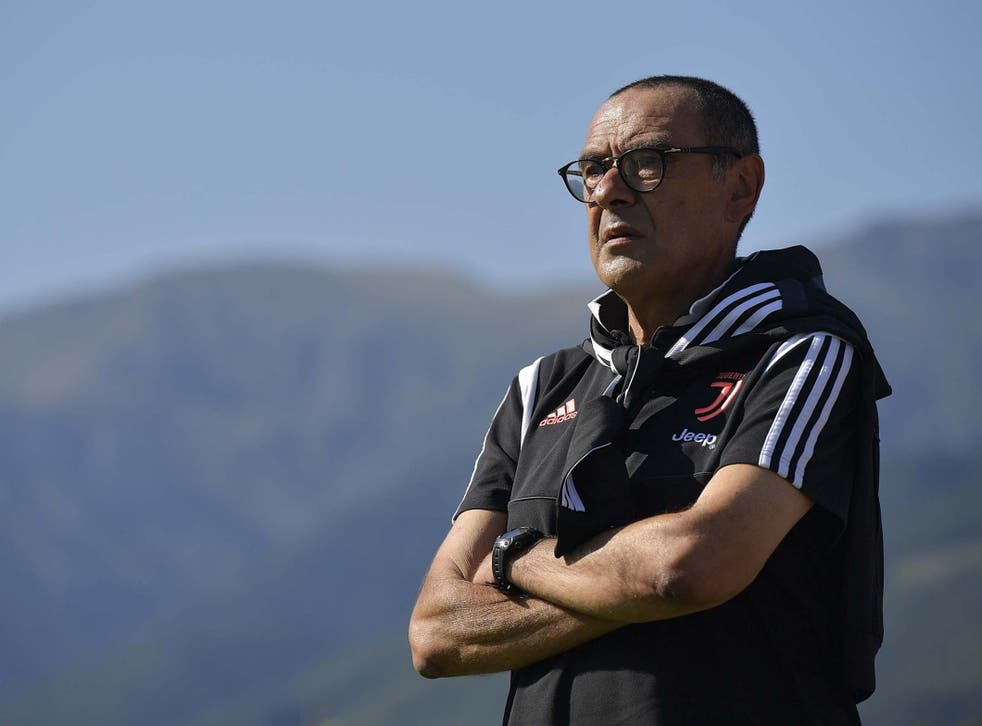 Maurizio Sarri left all of Juventus' new signings on the bench against partner