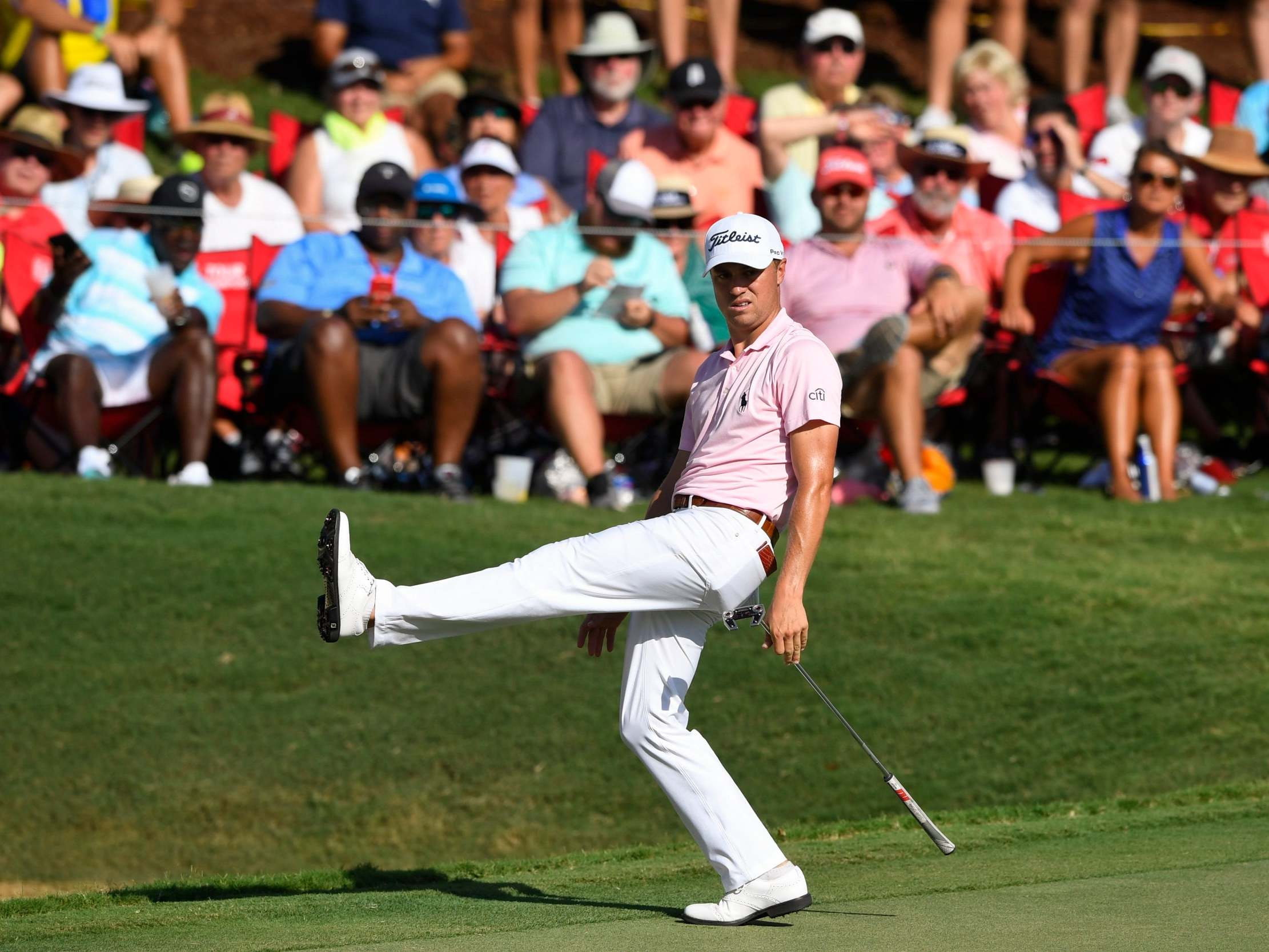 FedEx Cup: Justin Thomas sees controversial two-stroke lead wiped out by Xander Schauffele and Brooks Koepka