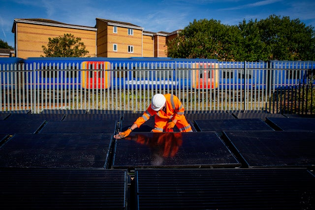 World's first solar-powered railway line opens in UK