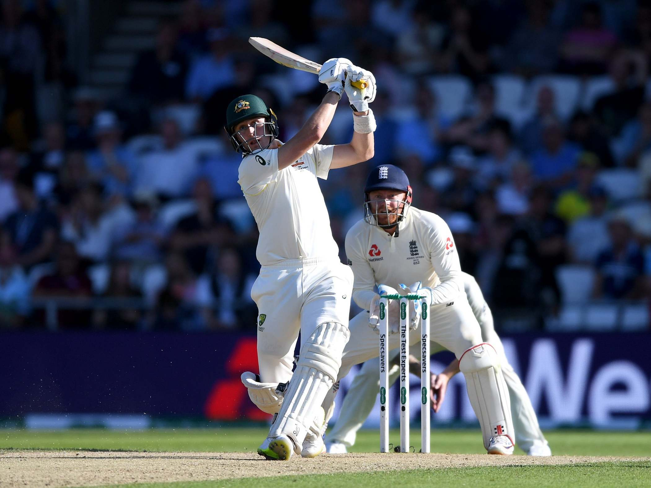 Ashes 2019: Australia build sizeable lead after sorry England sink without a trace at Headingley