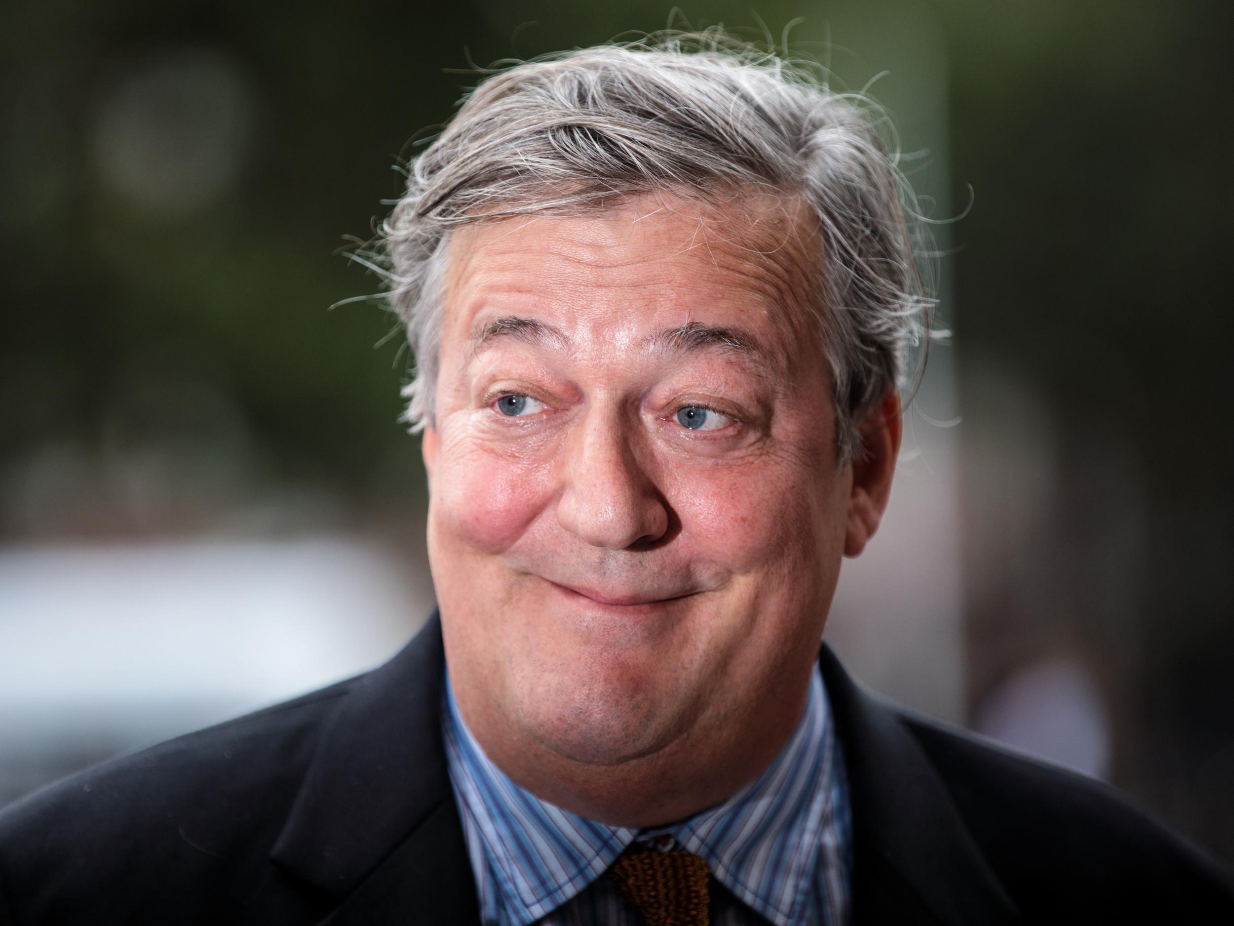 12. Stephen Fry