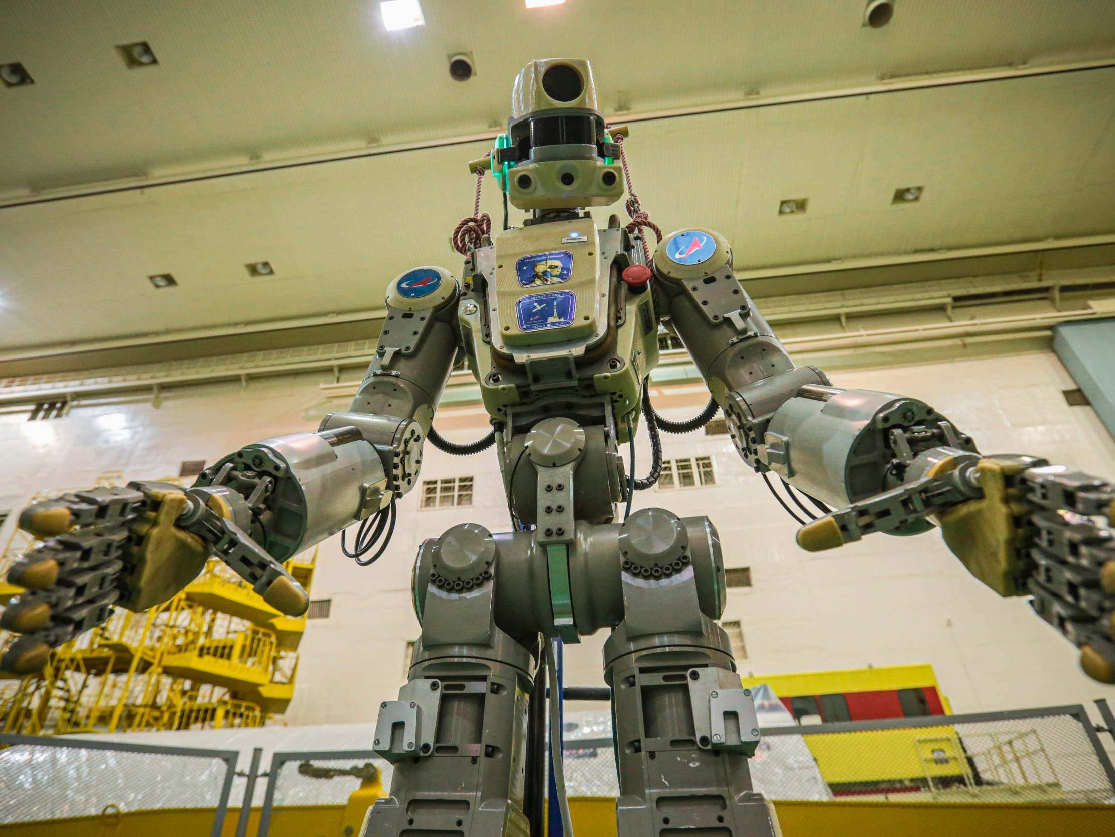 First rocket commanded by Russian humanoid robot fails to dock at In…
