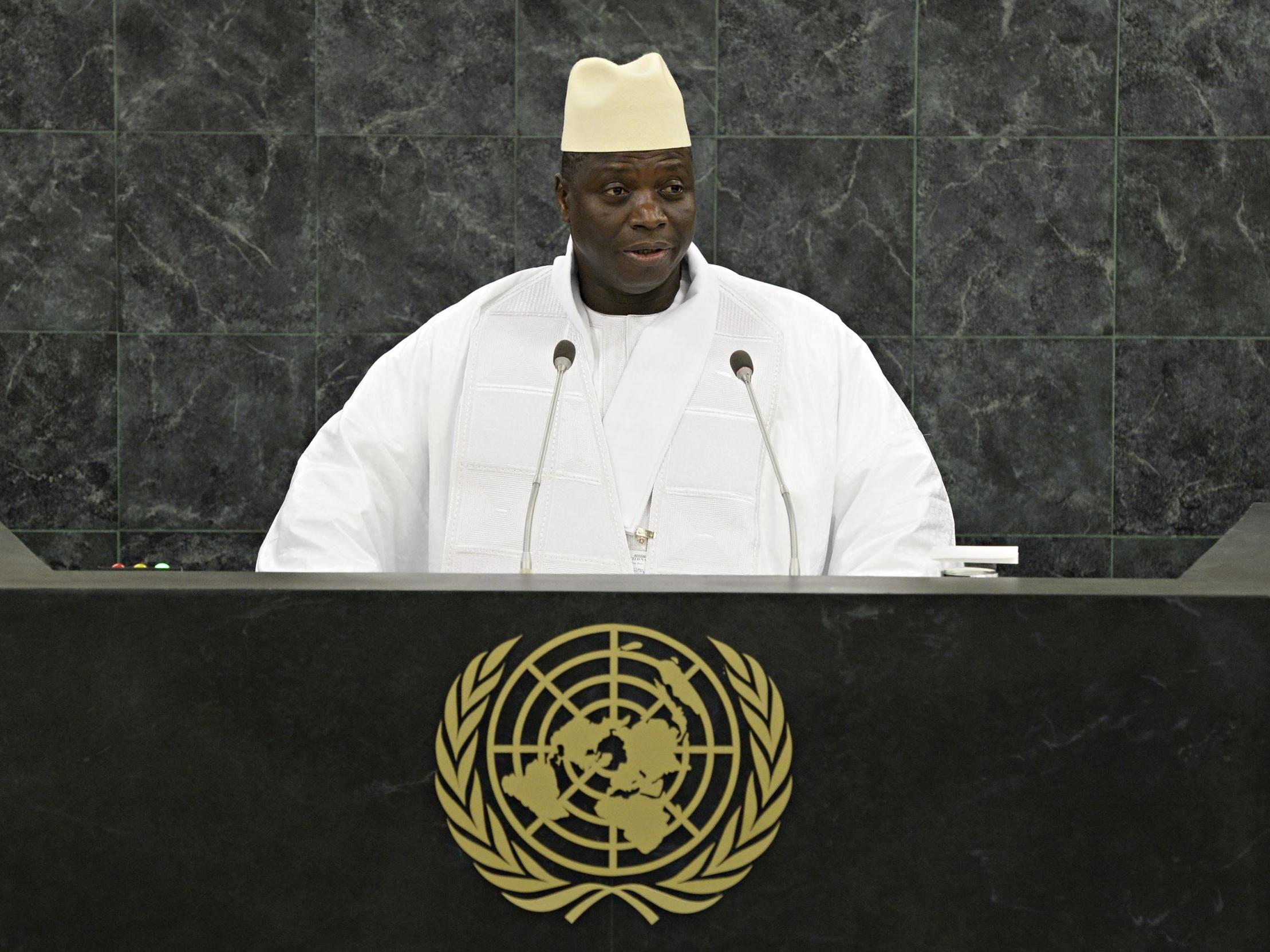 'Chopped to pieces': Former dictator's hitmen confess to murder and walk free in Gambia