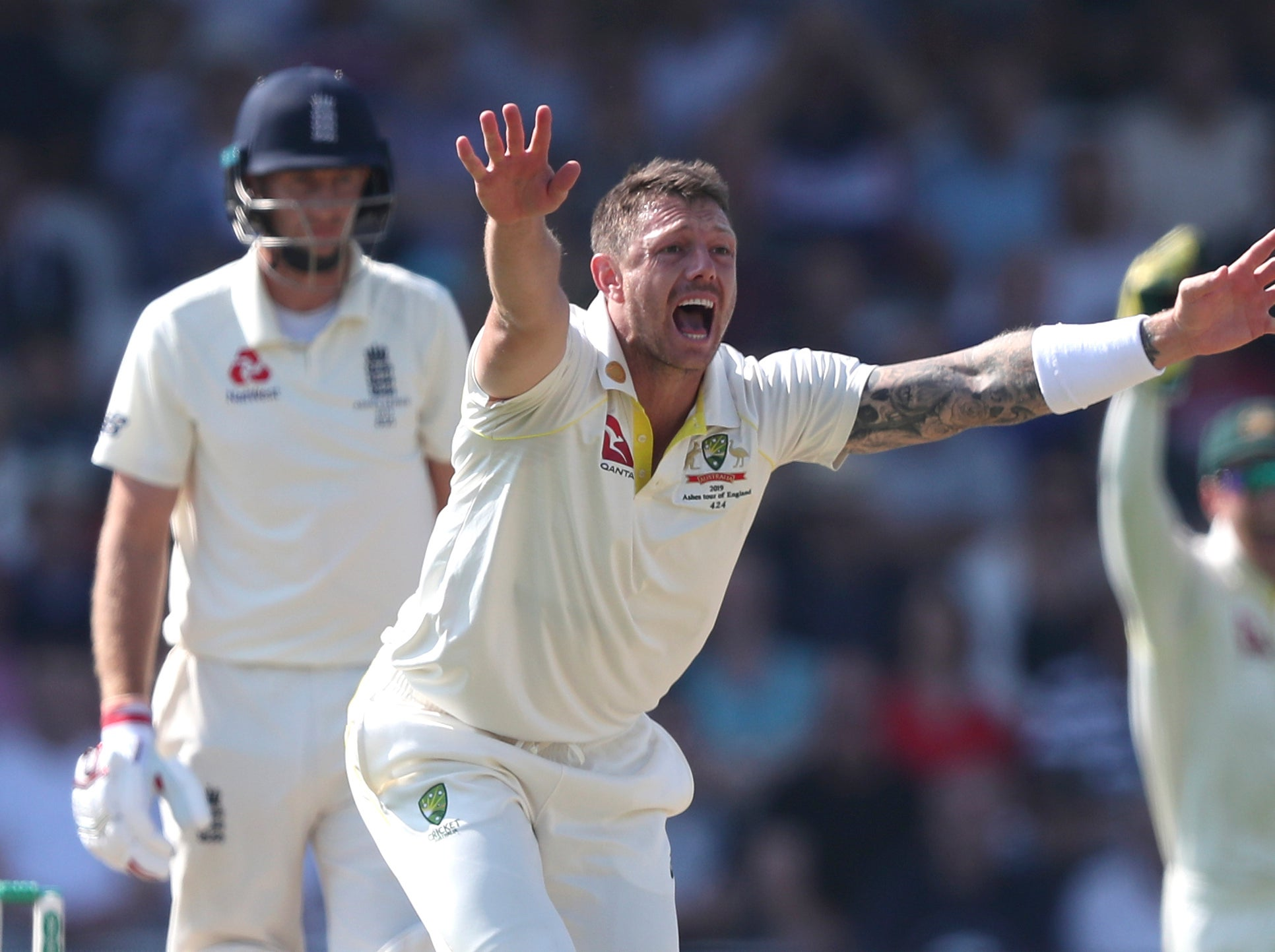 Ashes 2019 LIVE: England vs Australia day four latest as Joe Root caught at slip by David Warner