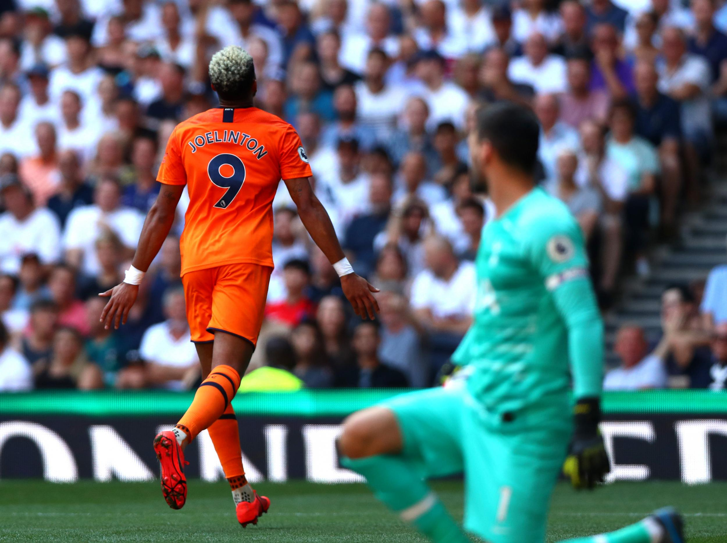 Tottenham vs Newcastle LIVE: Joelinton's first goal condemns