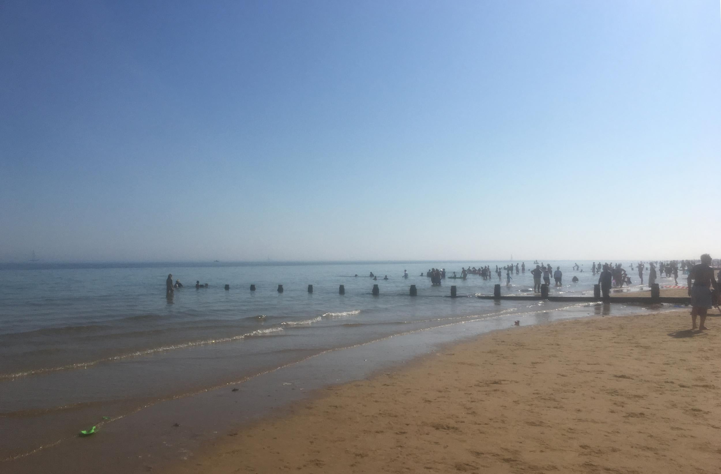 Beachgoers left struggling to breathe after mystery incident at Essex seaside