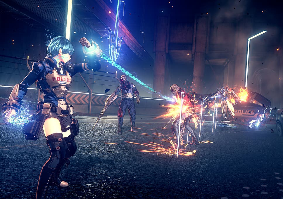 Astral Chain Review A Tedious Button Mashing Journey The