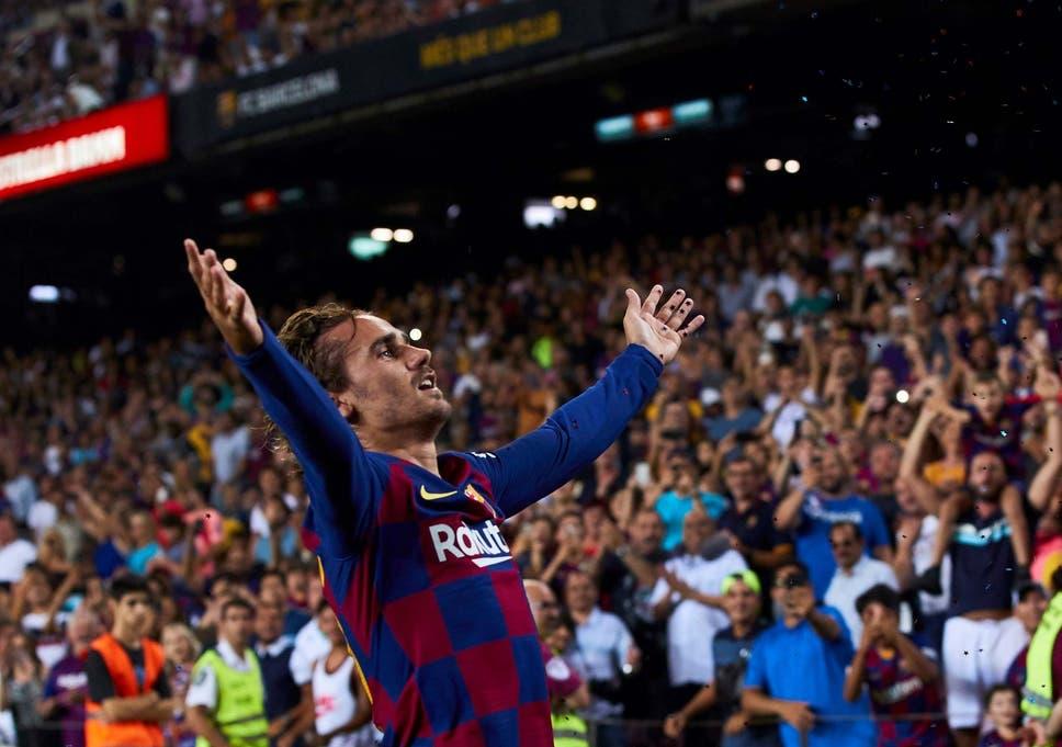 Barcelona adalah pemenang 5-2 melawan Real Betis