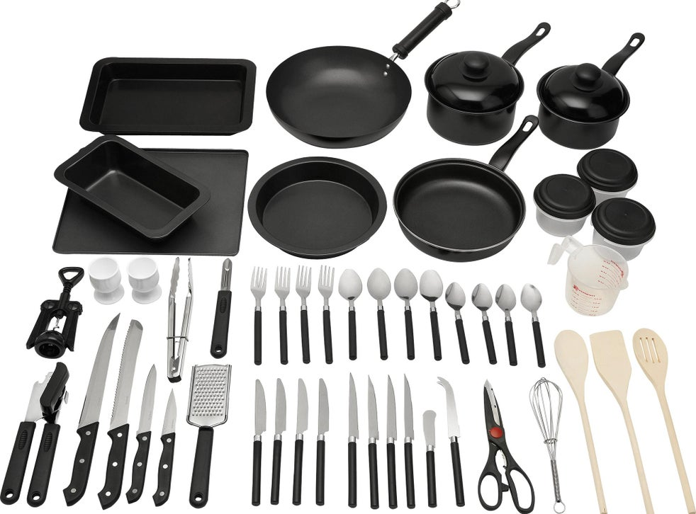 Best Student Kitchen Sets 2020 Pots Pans Cutlery Crockery And More Essentials For University The Independent