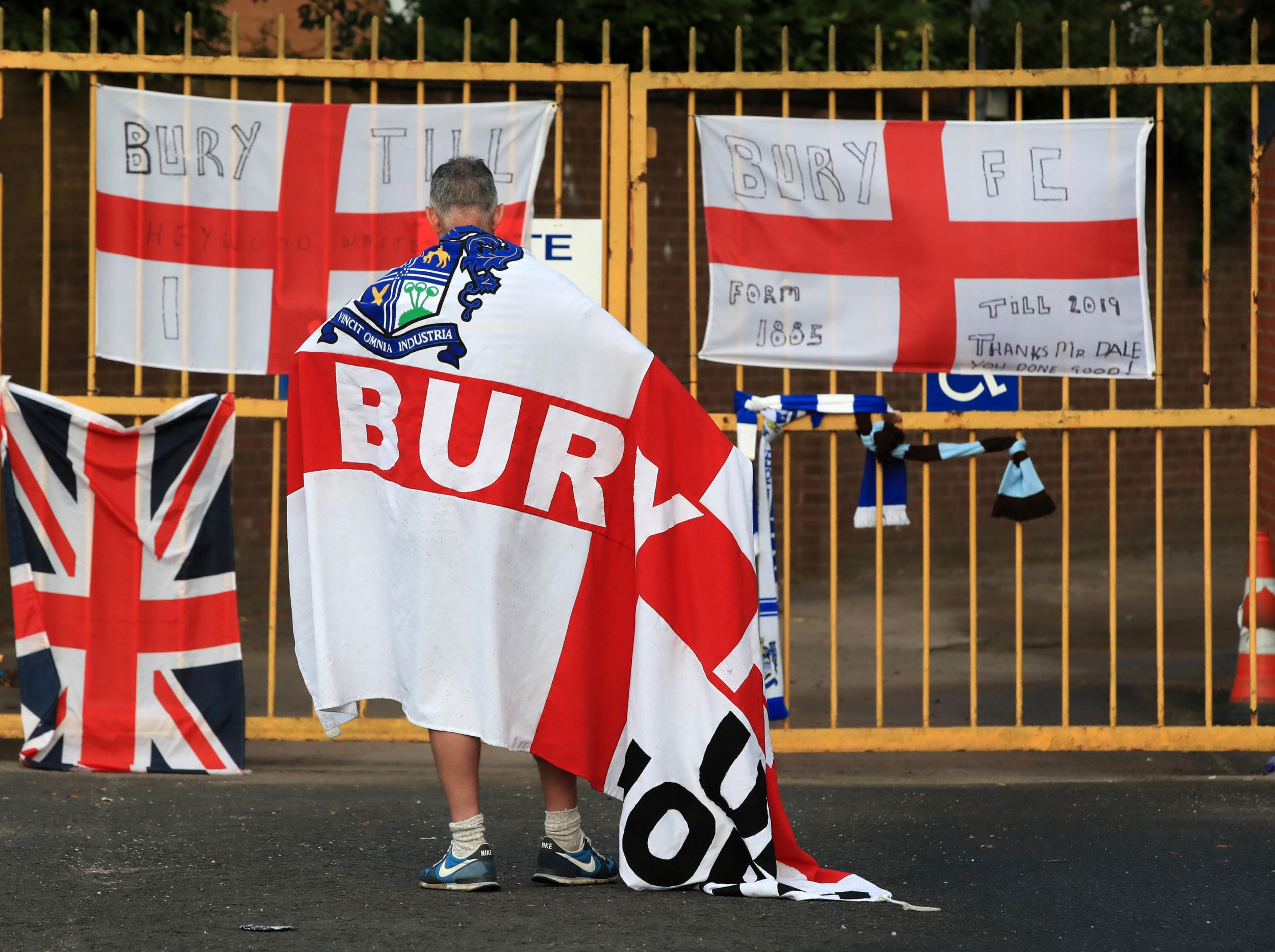 The scandalous neglect of Bury and Bolton Wanderers is nothing short of a national tragedy