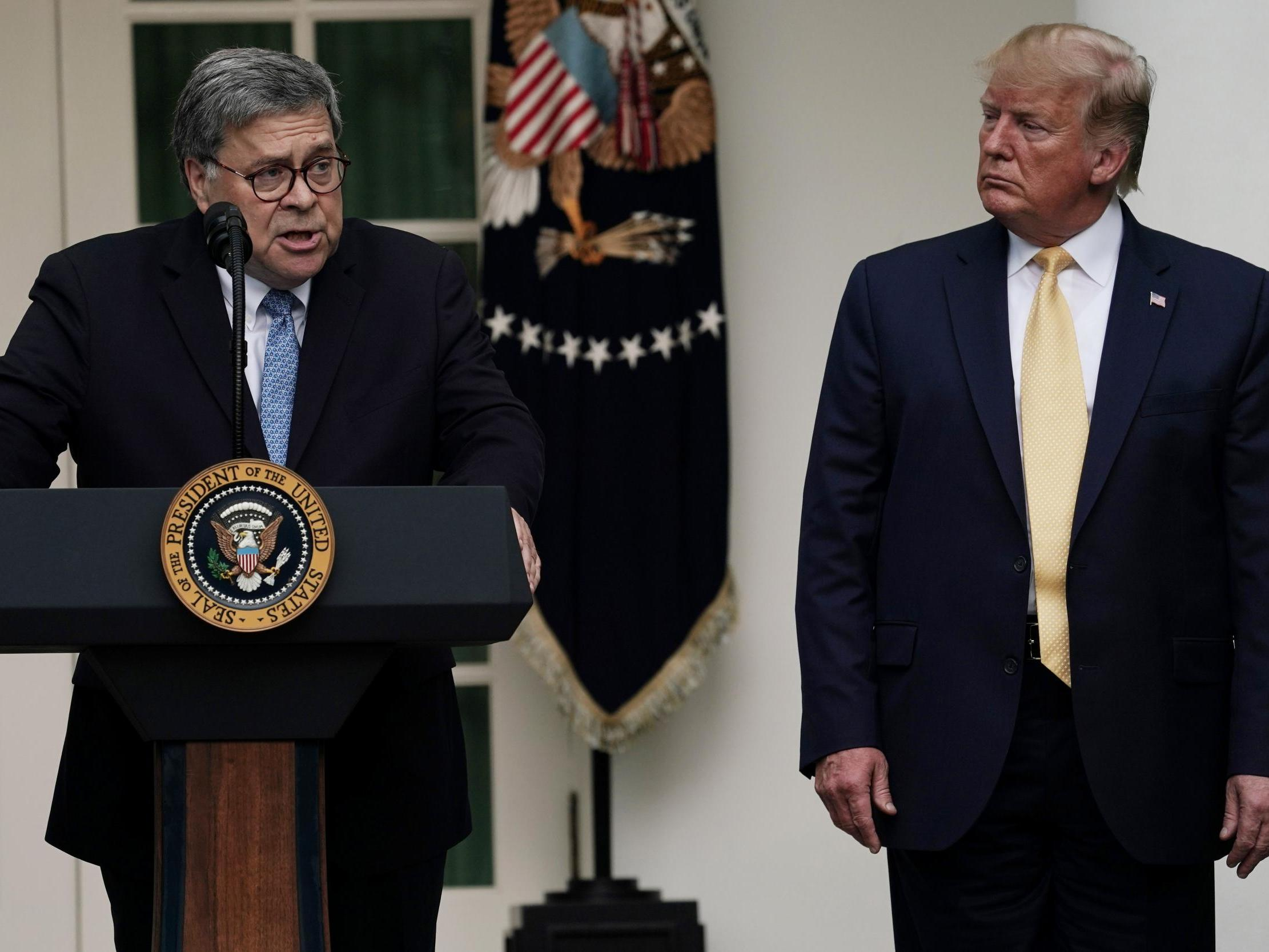 William Barr's classmates say he's using Trump to get the power he always wanted