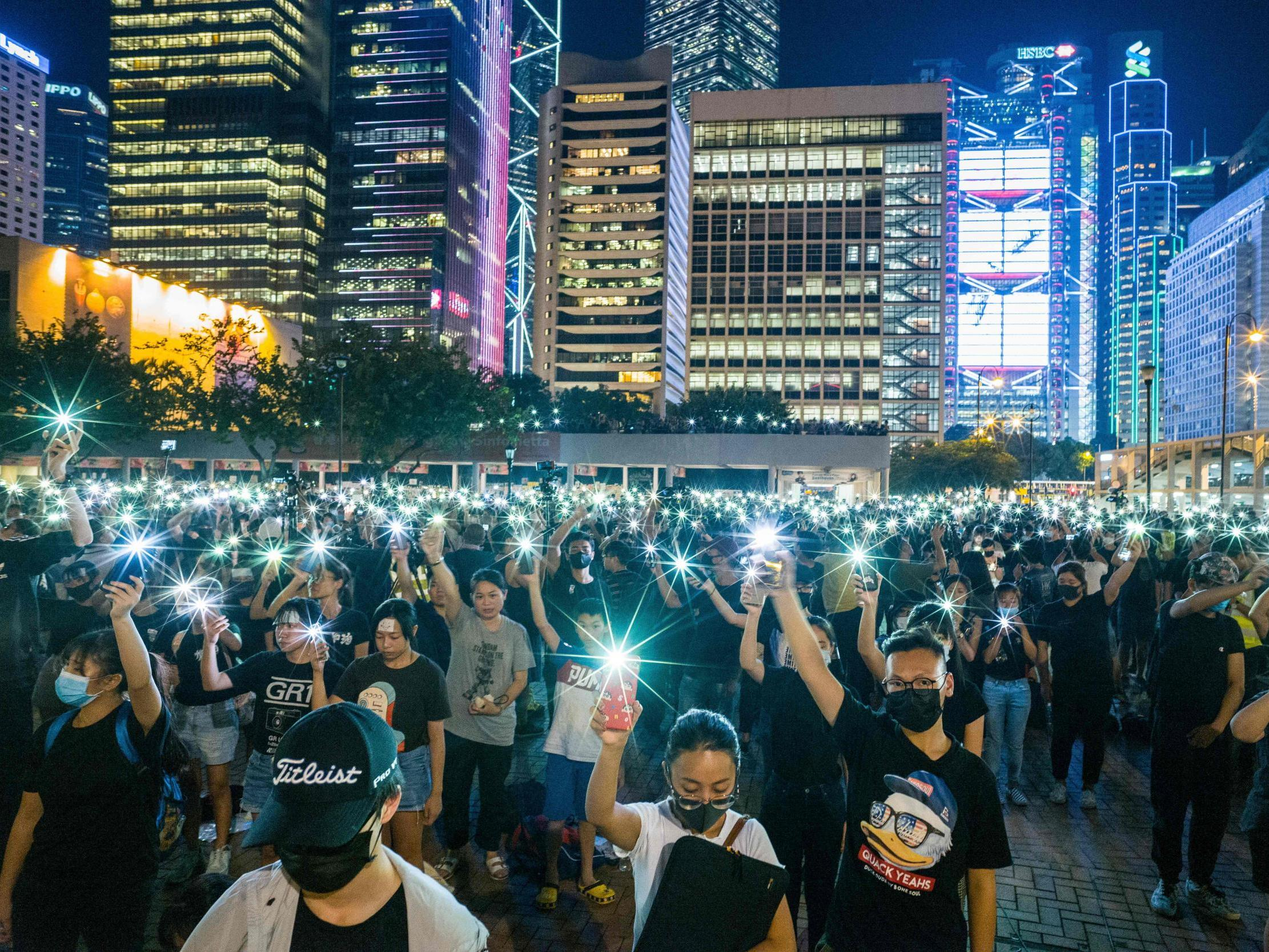 The song from Les Miserables that has become a protest anthem in Hong Kong