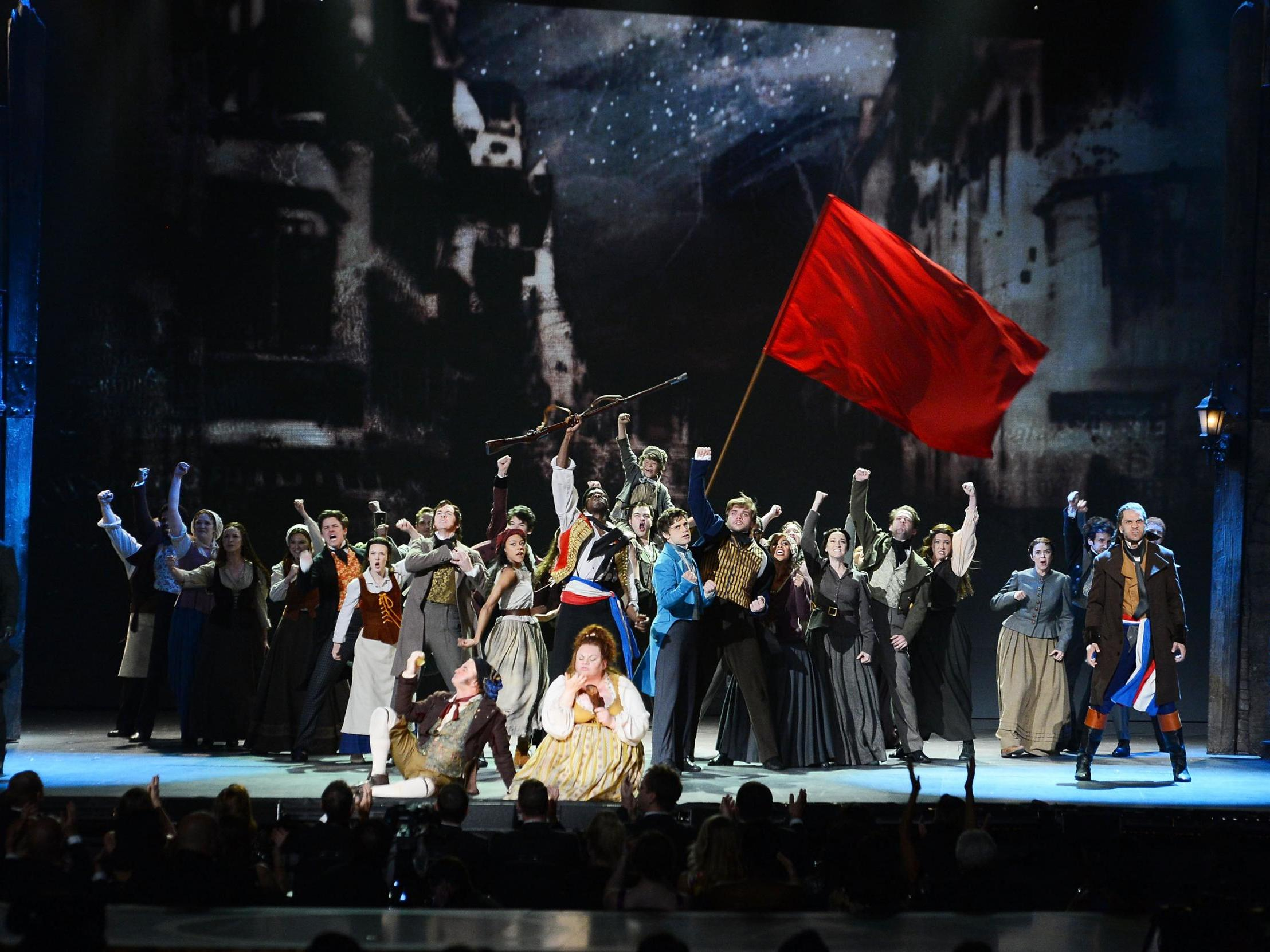 The song from Les Miserables that has become a protest